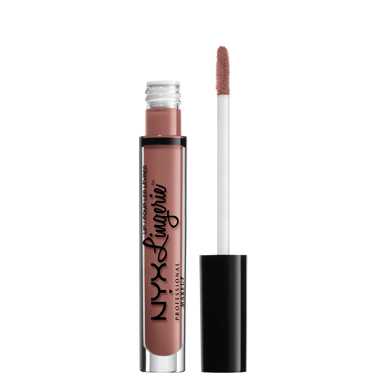 NYX Professional Makeup Lip Lingerie Liquid Lipstick, cashmere