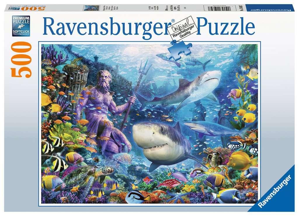 Ravensburger Puslespil, King of the sea, 500 brikker