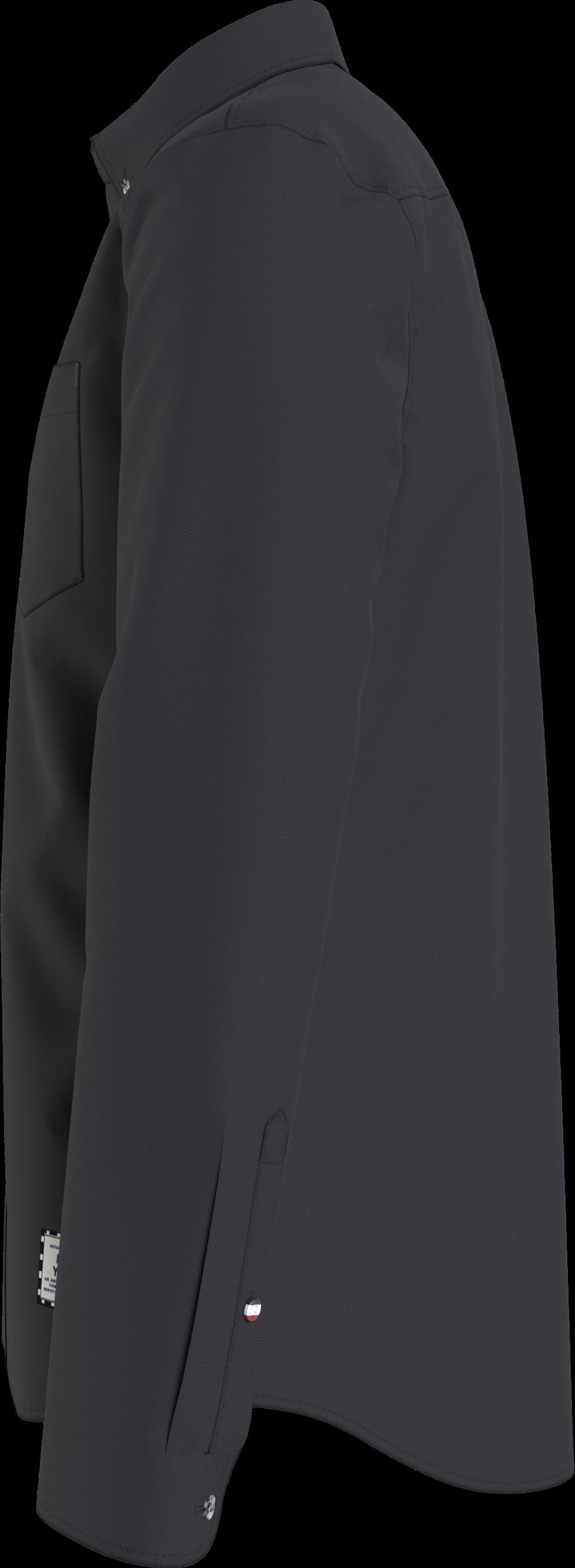 Hilfiger Denim Two-Tone Oxford Skjorte, Sort, S