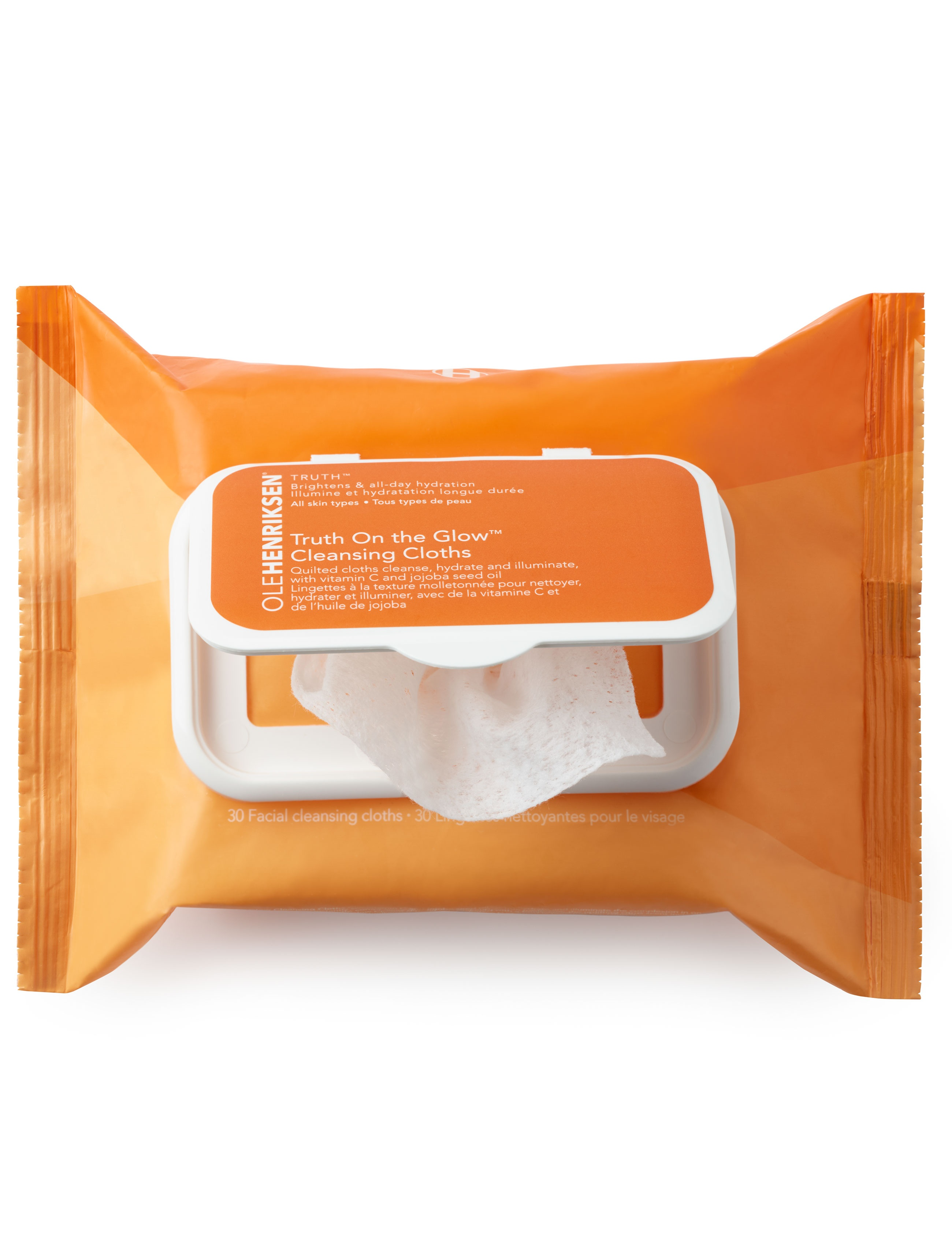 Ole Henriksen Truth Truth On The Glow Cleansing Cloths, 30 stk