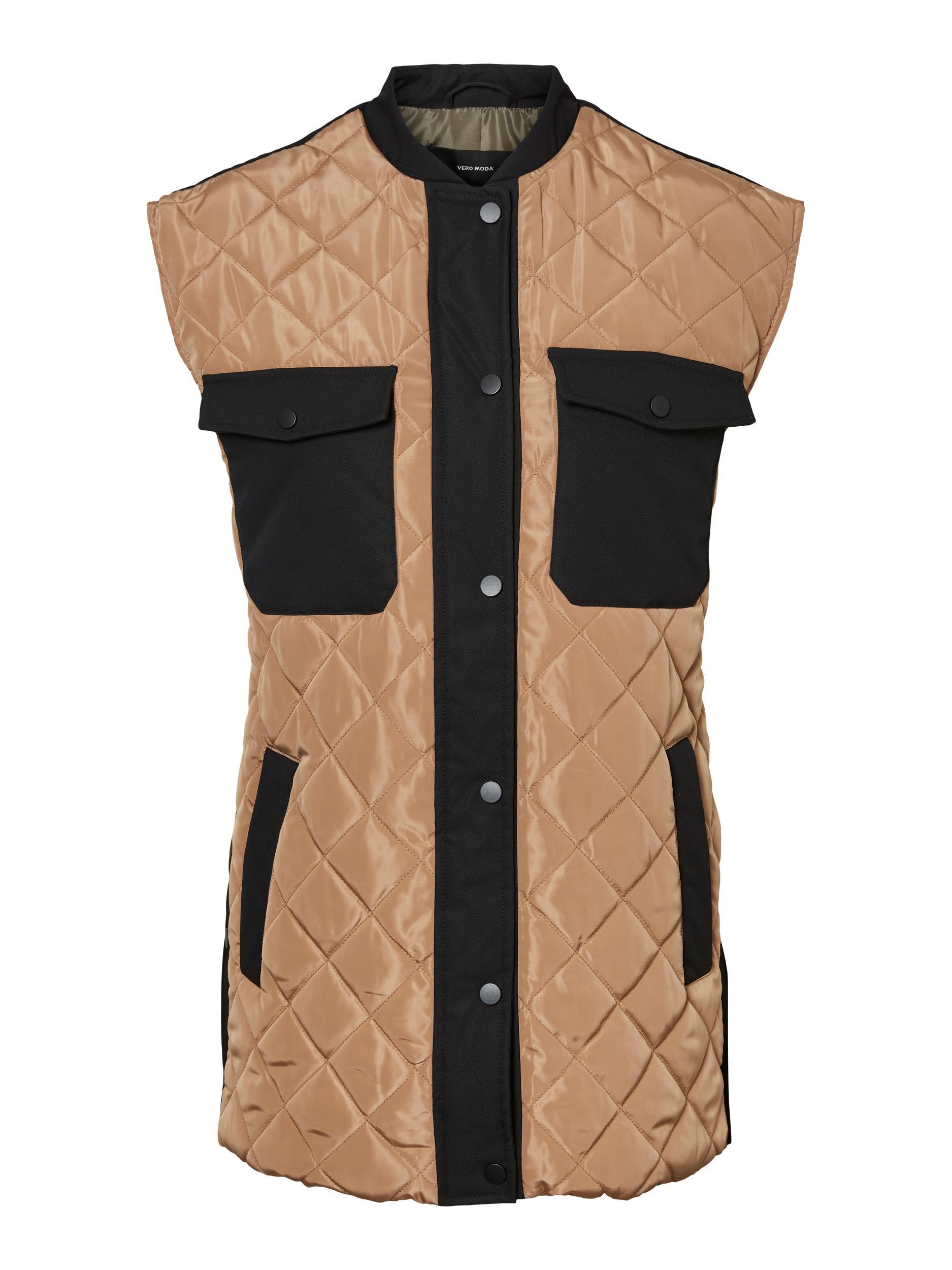Vero Moda Morgan vest, tigers eye, x-large
