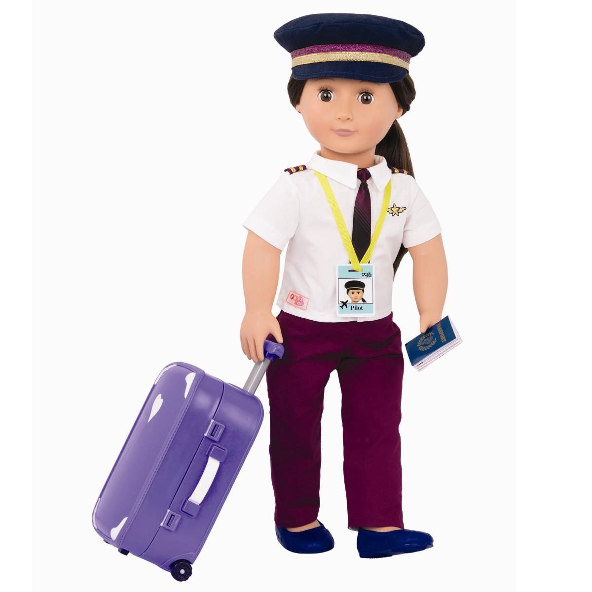 Our Generation dukke, Pilot Kaihily
