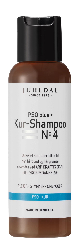 Juhldal PSO Plus+ Kur Shampoo No. 4, 100 ml