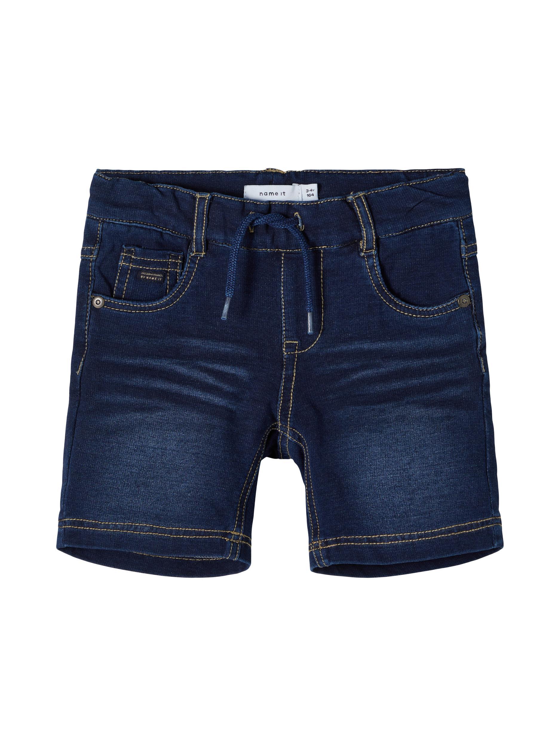 Name It Ryan shorts, dark blue denim, 104