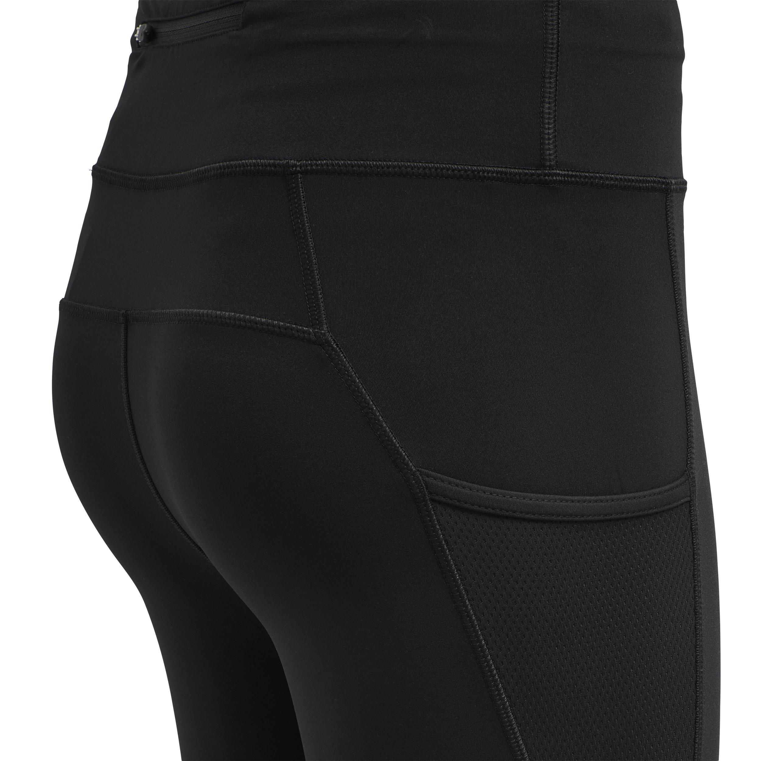 Newline W Højtaljede warm tights, black, x-large