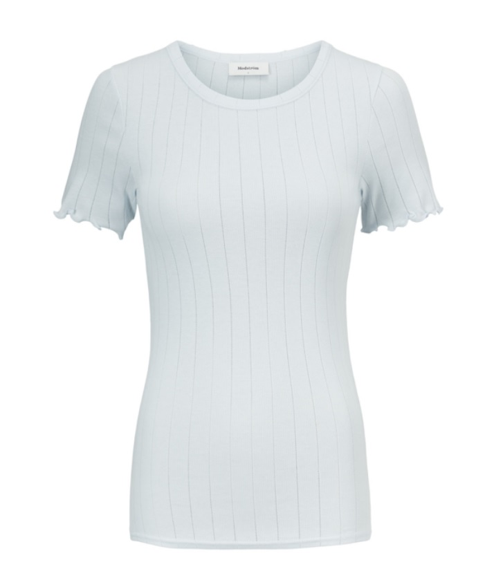 Modström Issy t-shirt, plain air, x-small