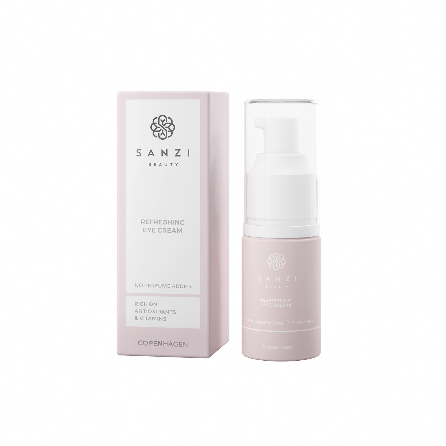 Sanzi Beauty Refreshing Eye Cream, 15 ml
