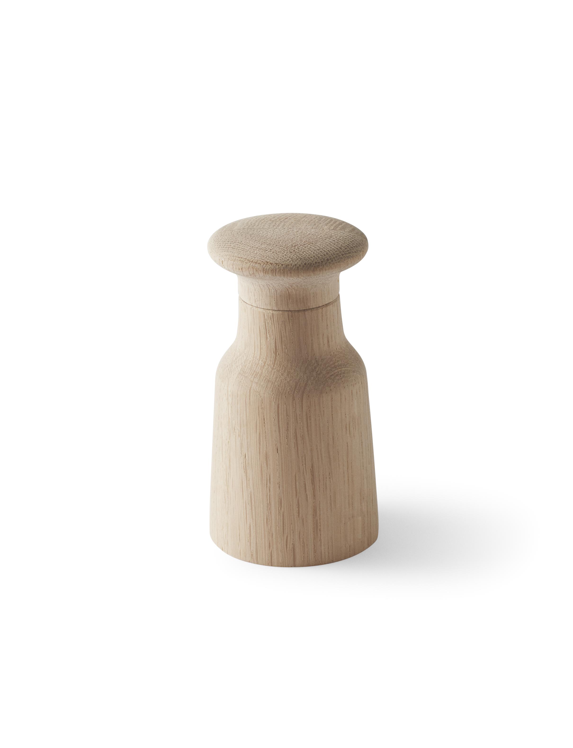 SKAGERAK Hammer kværn, 12 cm, egetræ