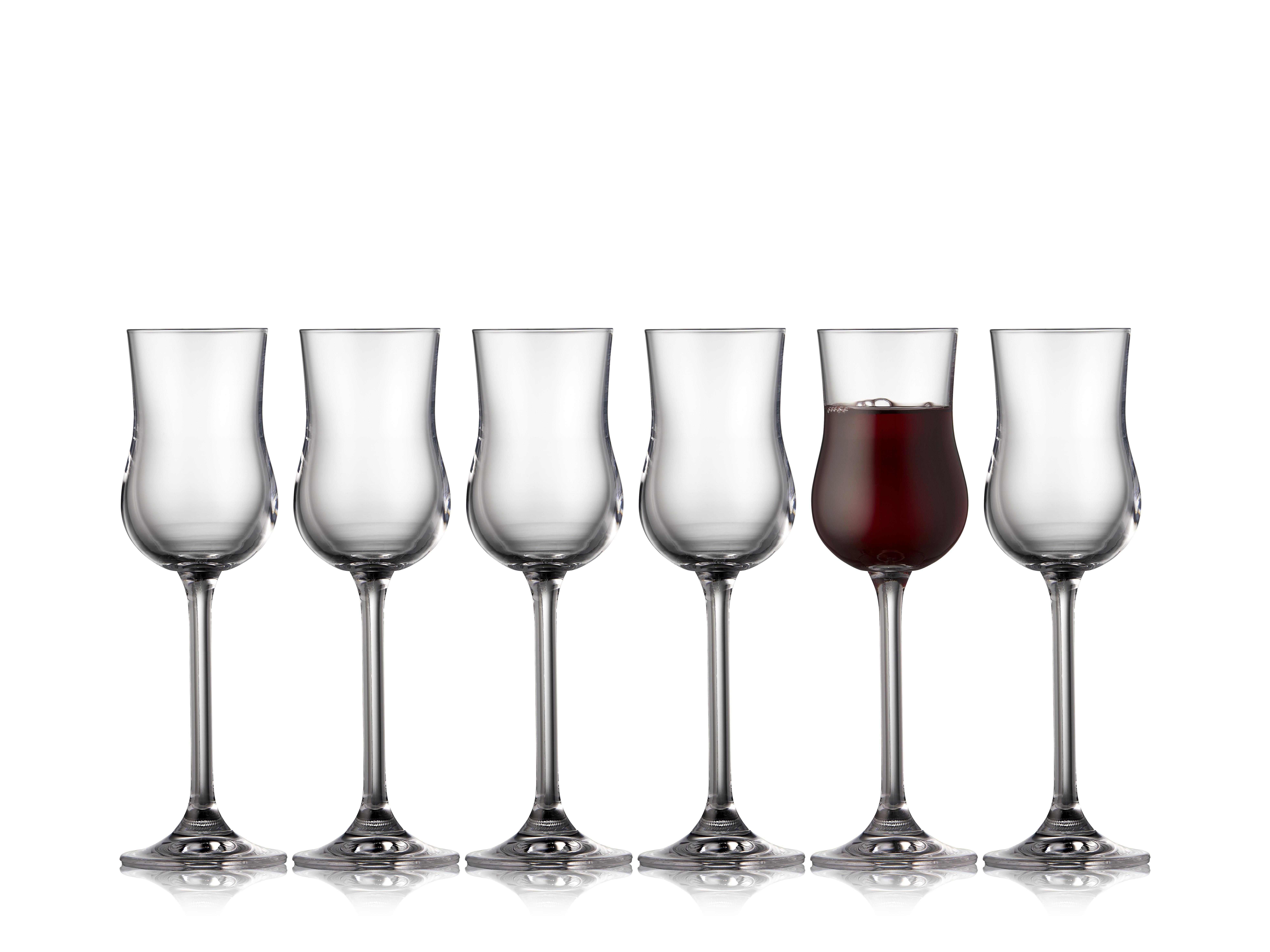 Lyngby-Glas Juvel portvin & grappaglas, 90 ml, 6 stk