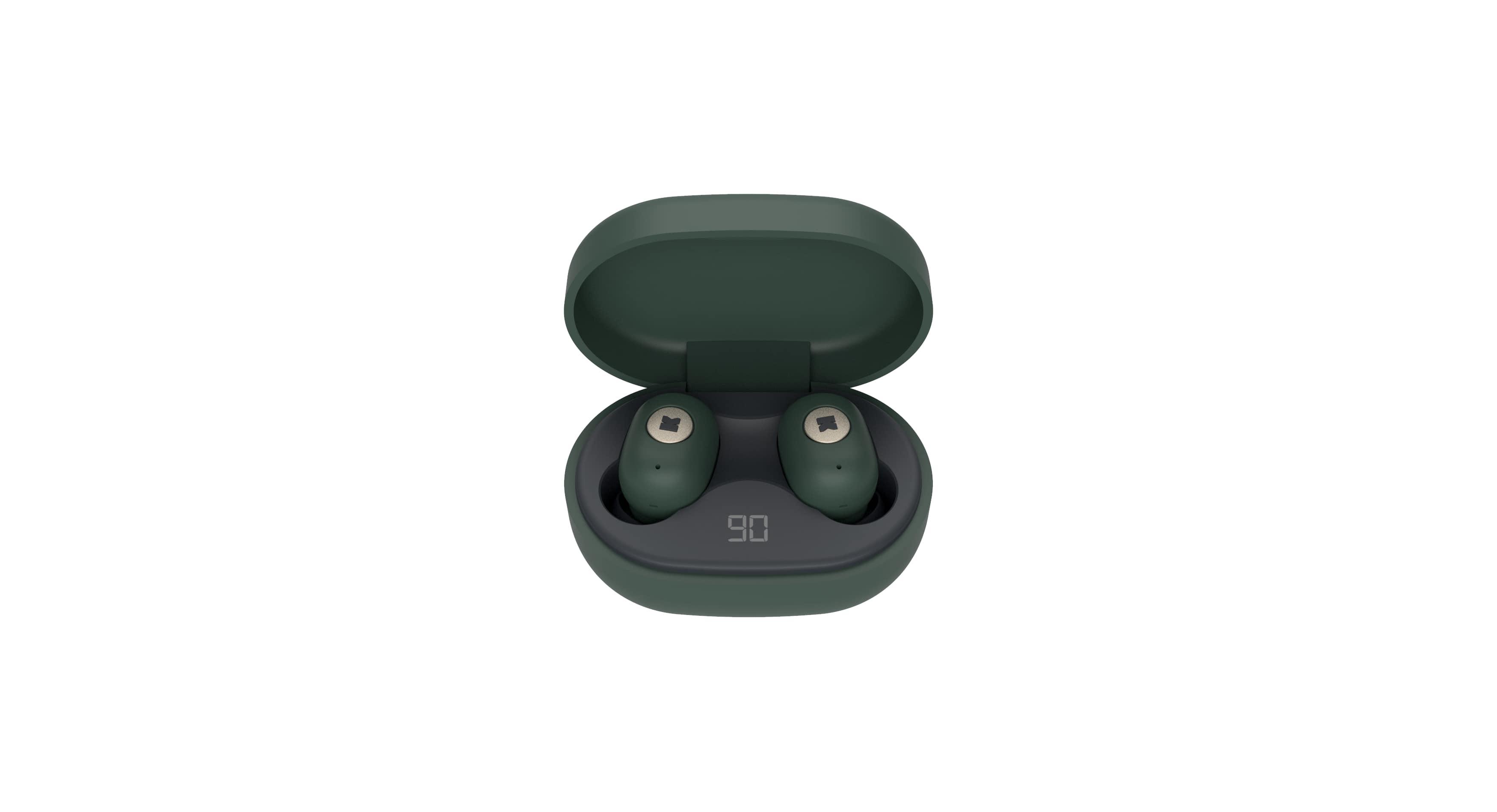 Kreafunk aBean In-Ear høretelefoner, shady green