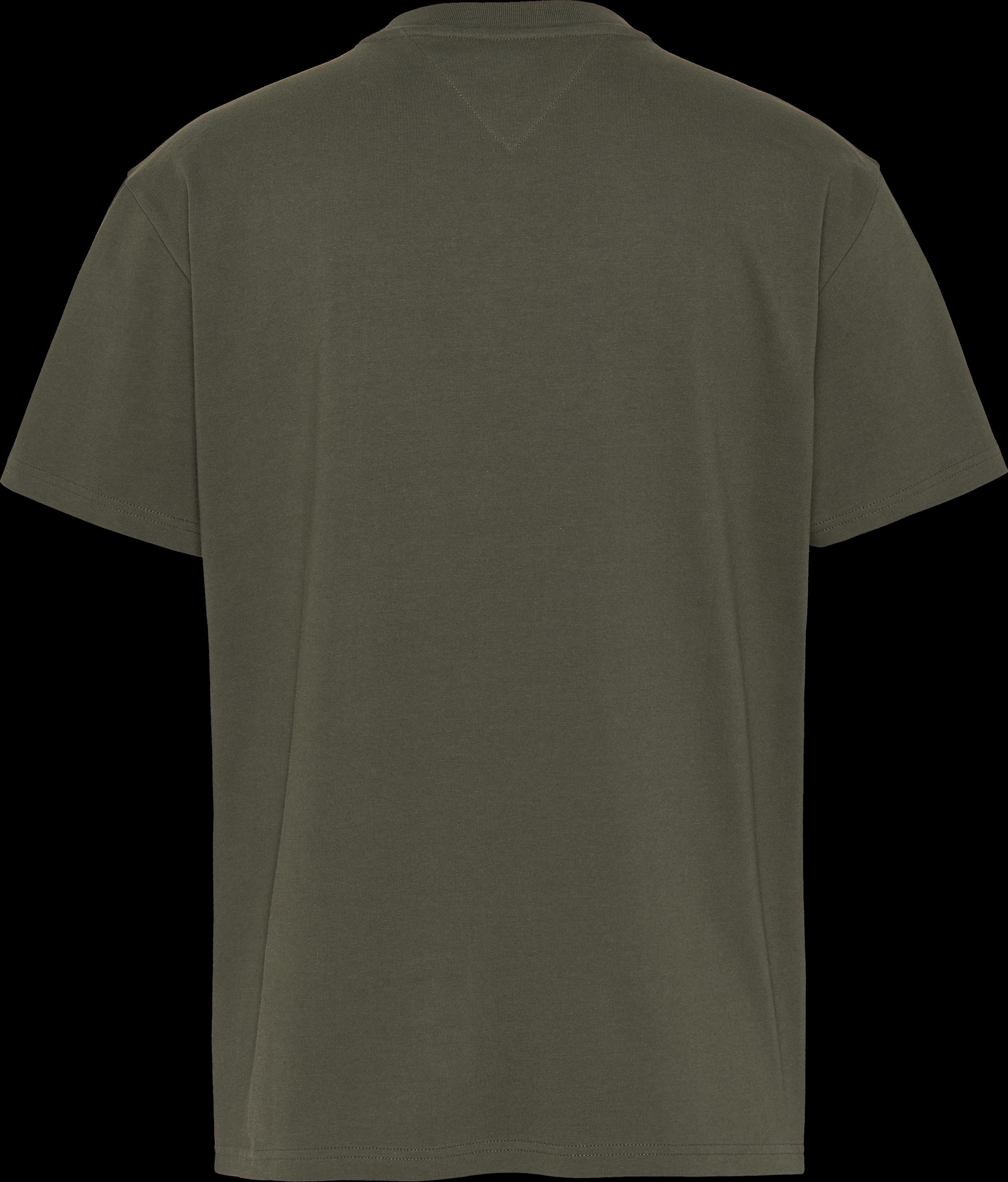 Hilfiger Denim Circle Logo T-shirt, Dark Olive, XXL
