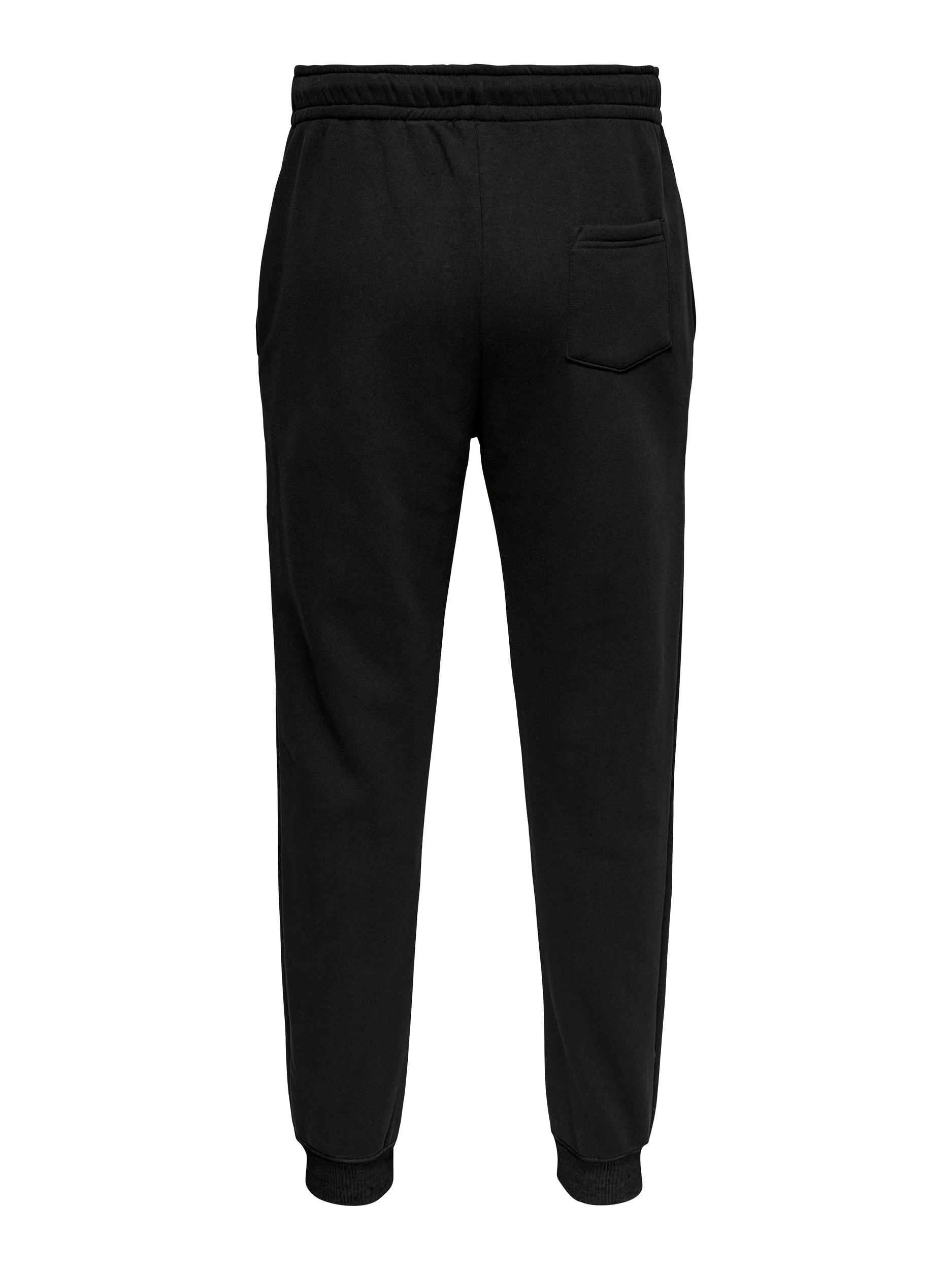 Only & Sons Ceres Life sweatpants, black, small