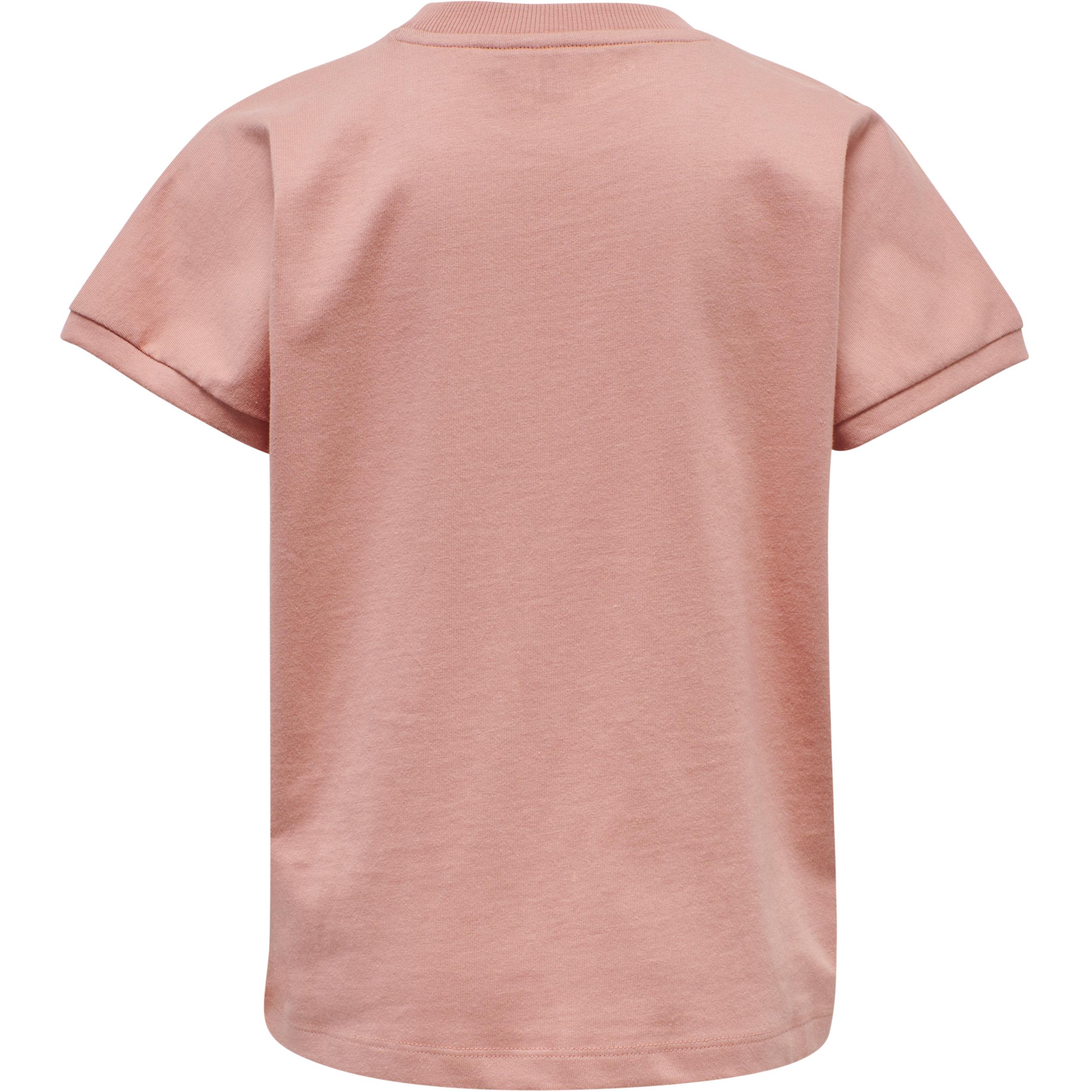 Hummel Atlantis SS t-shirt, Cameo brown, 140