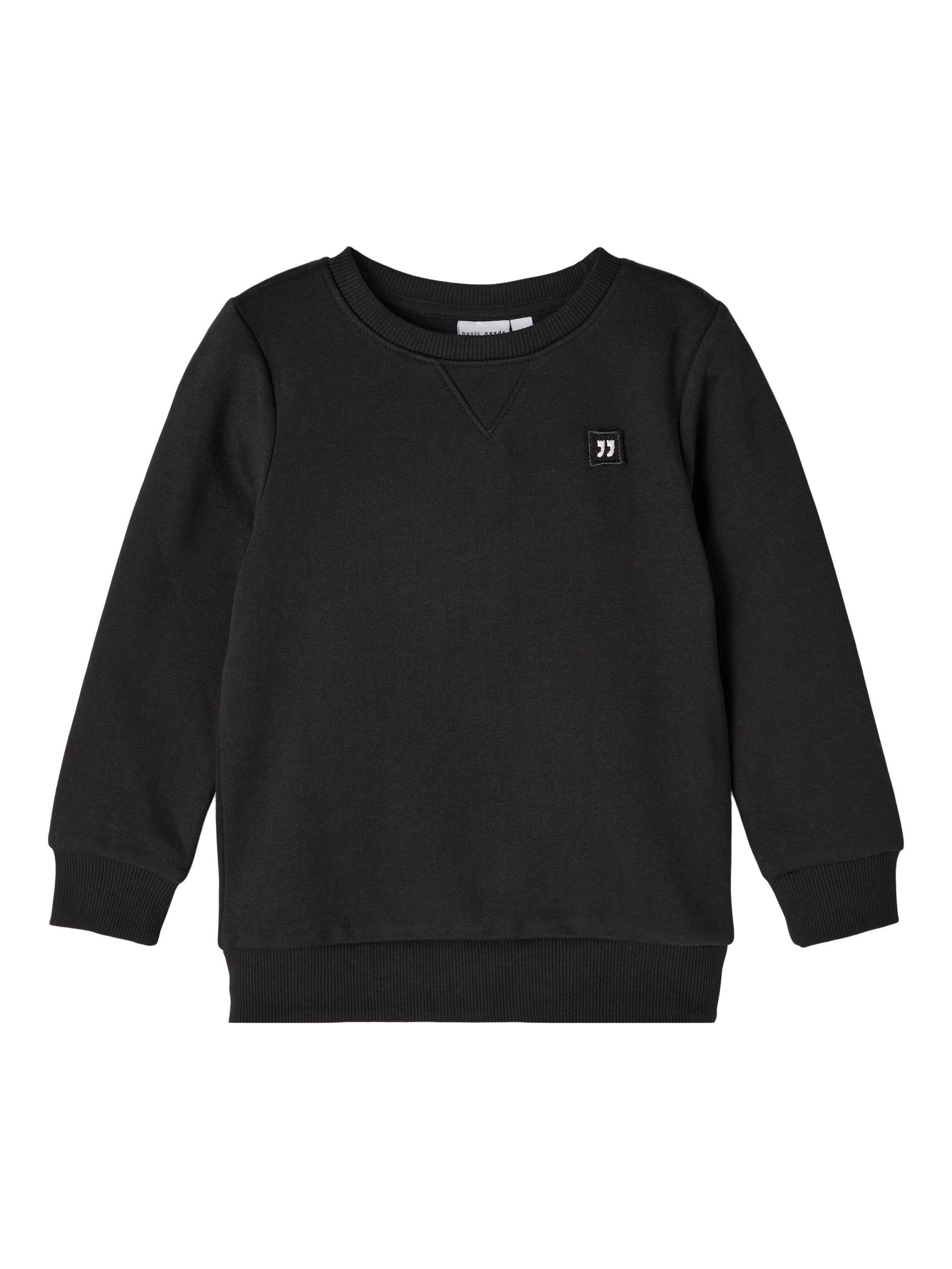 Name It Vimo sweatshirt, sort, 92 cm