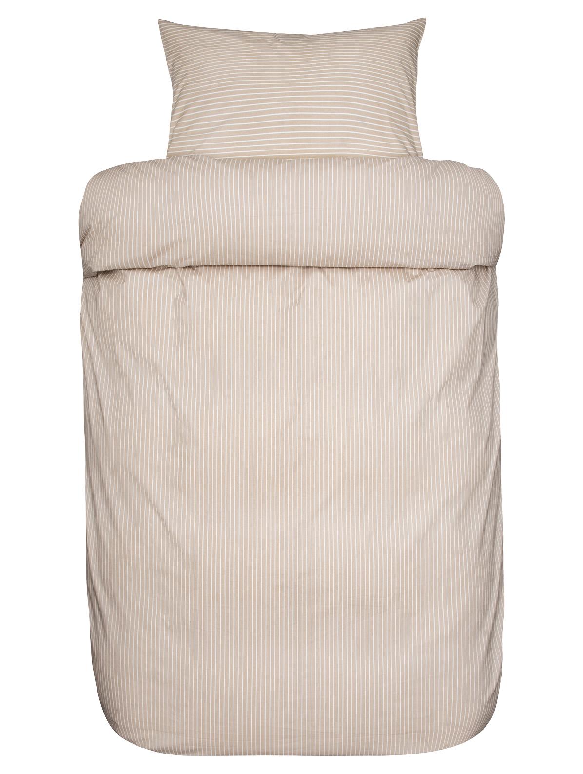 Høie Loke sengelinned, 140x220 cm, beige
