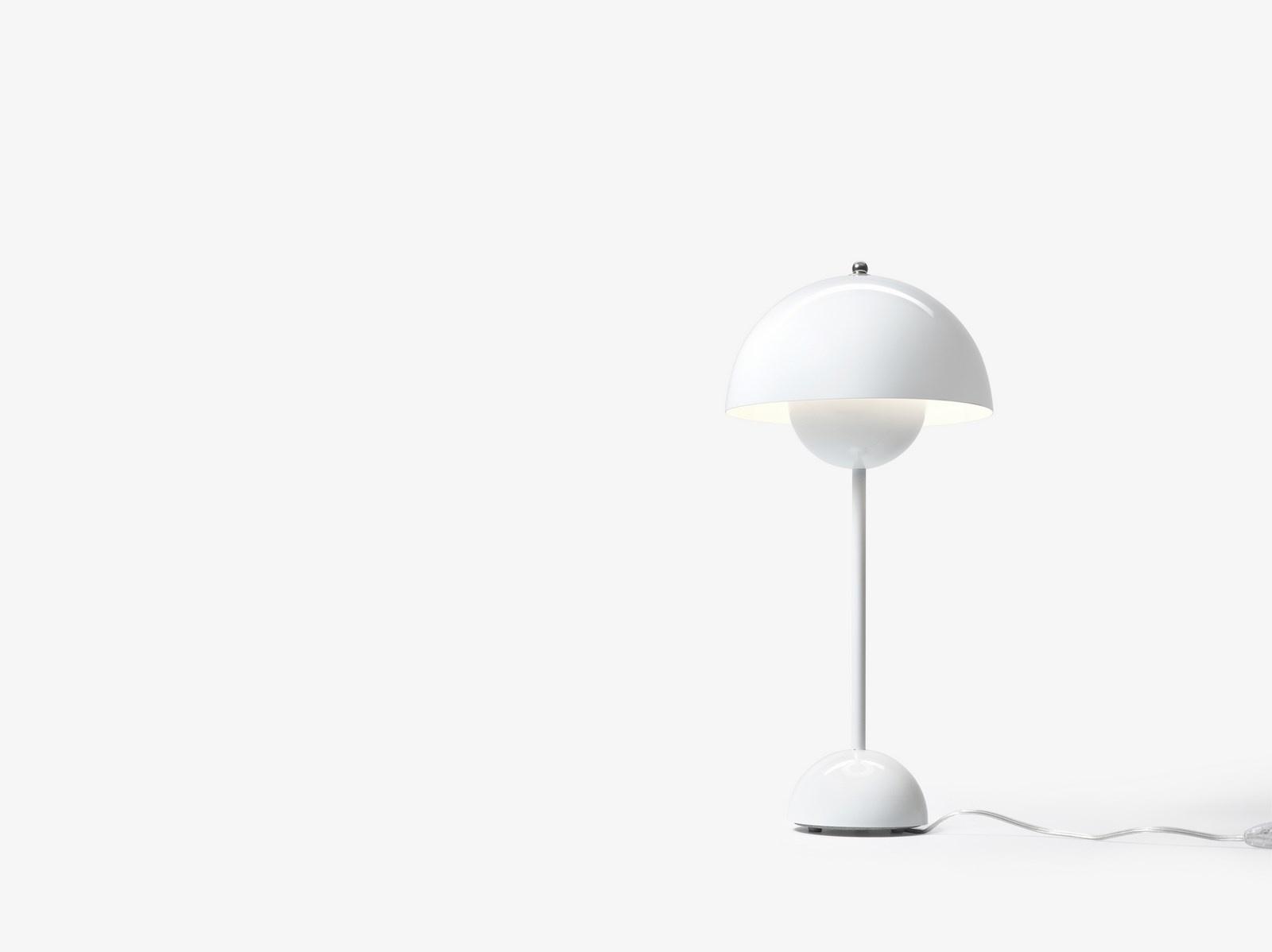 &tradition Flowerpot VP3 bordlampe, Ø23 cm, white