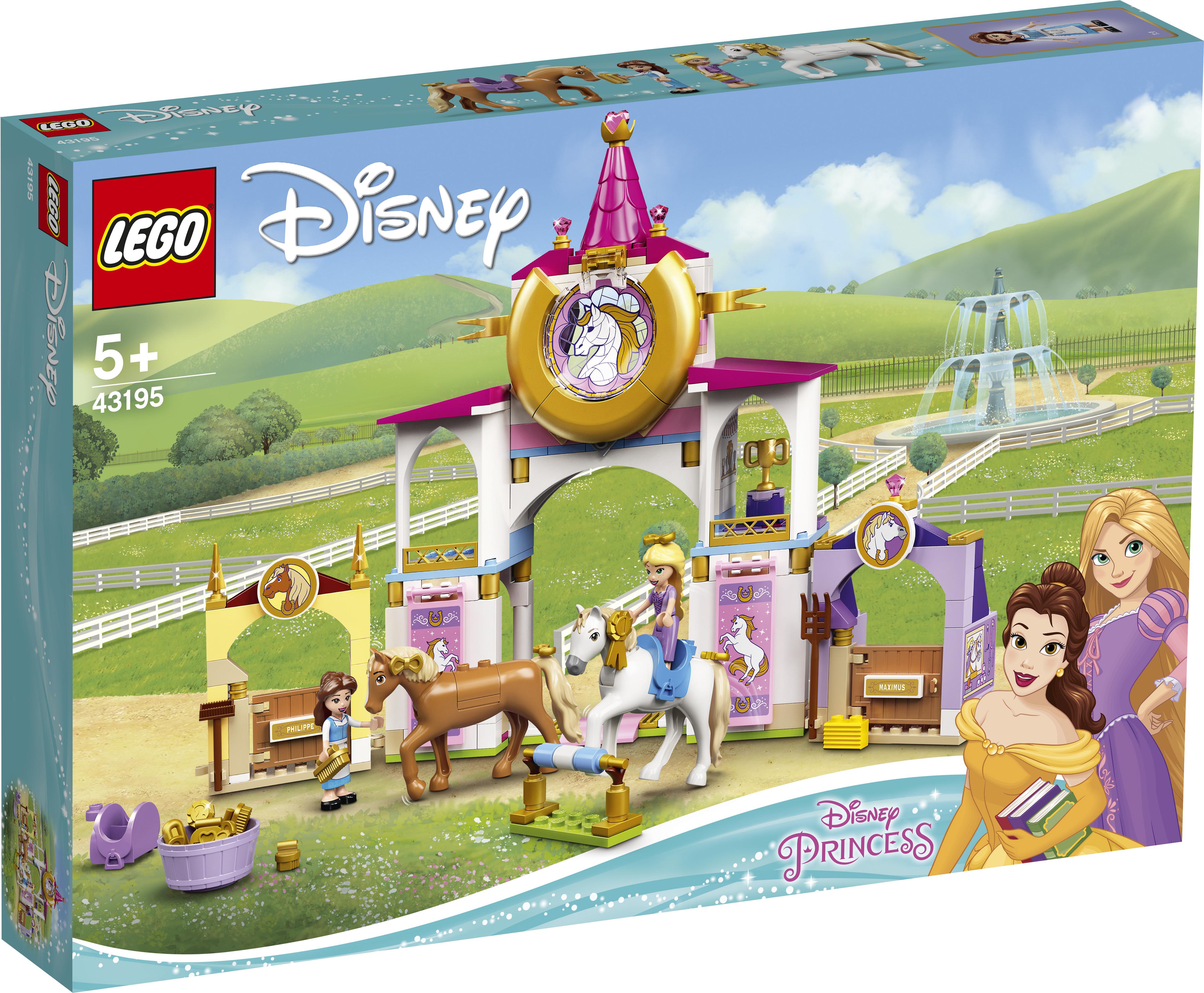 LEGO Disney Belle og Rapunzels kongelige stalde - 43195