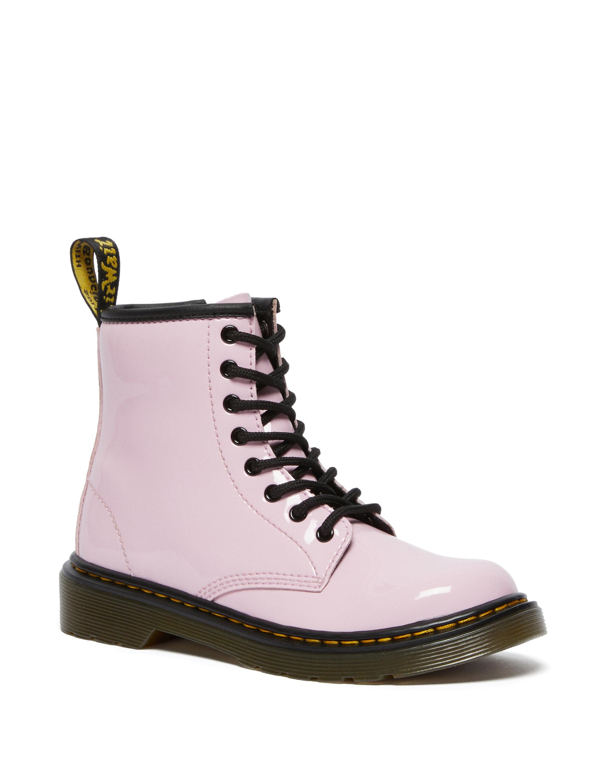 Dr. Martens Junior Patent Leather Ankle støvler