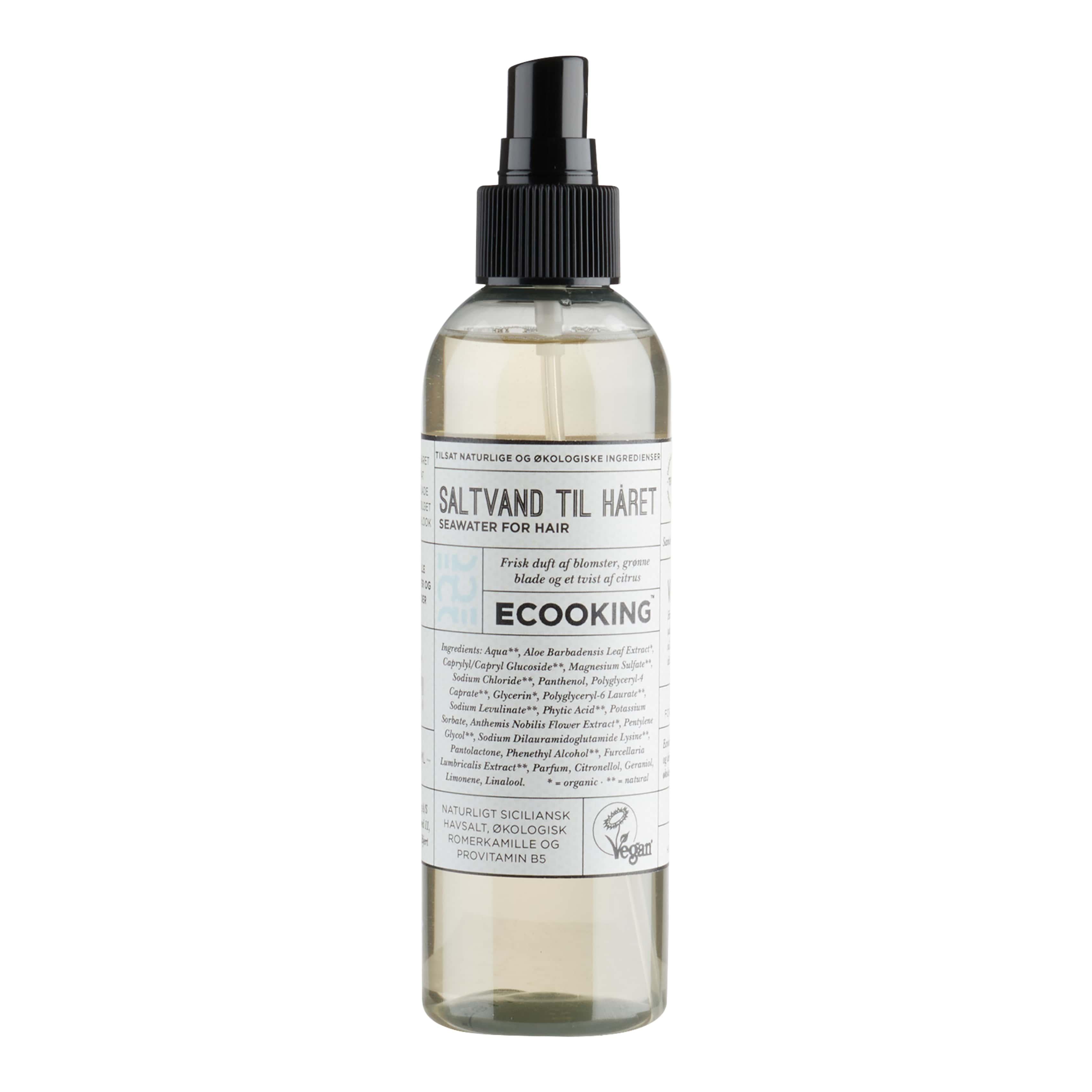 Ecooking Saltvand til Håret, 200 ml