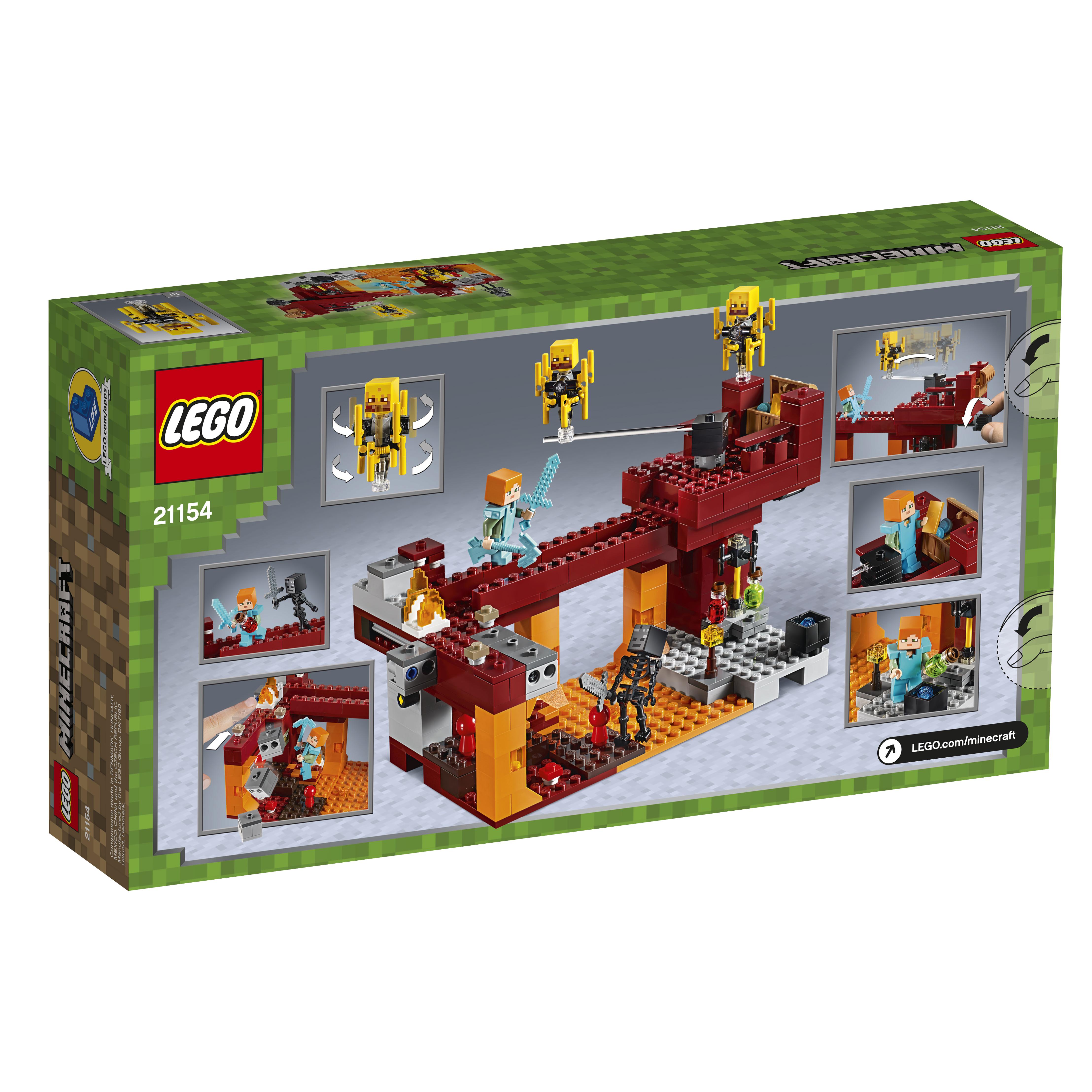 LEGO Minecraft Blaze-broen - 21154