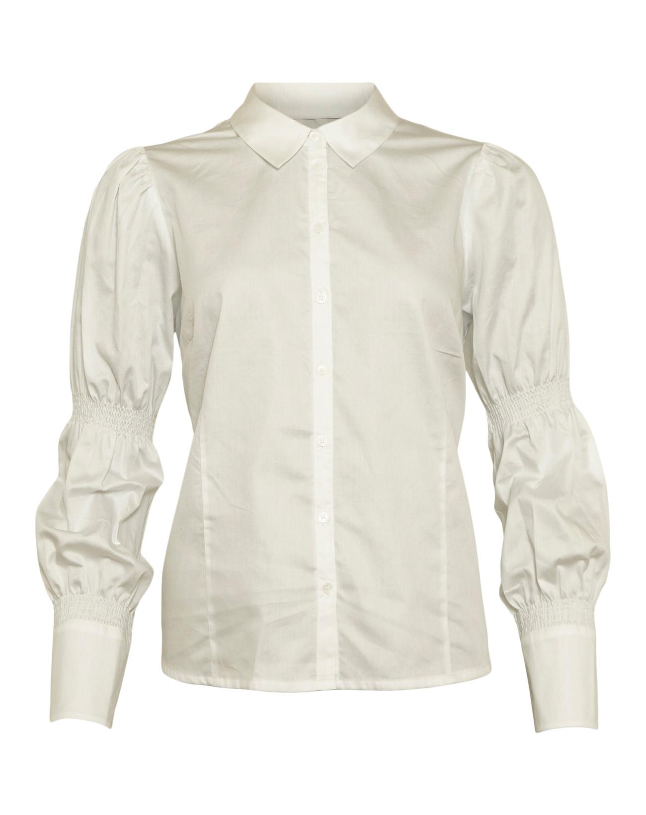 Micha skjorte, Bright White, 44