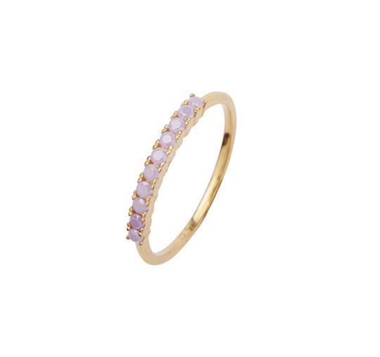 Pico Fineley ring, lavender, 58