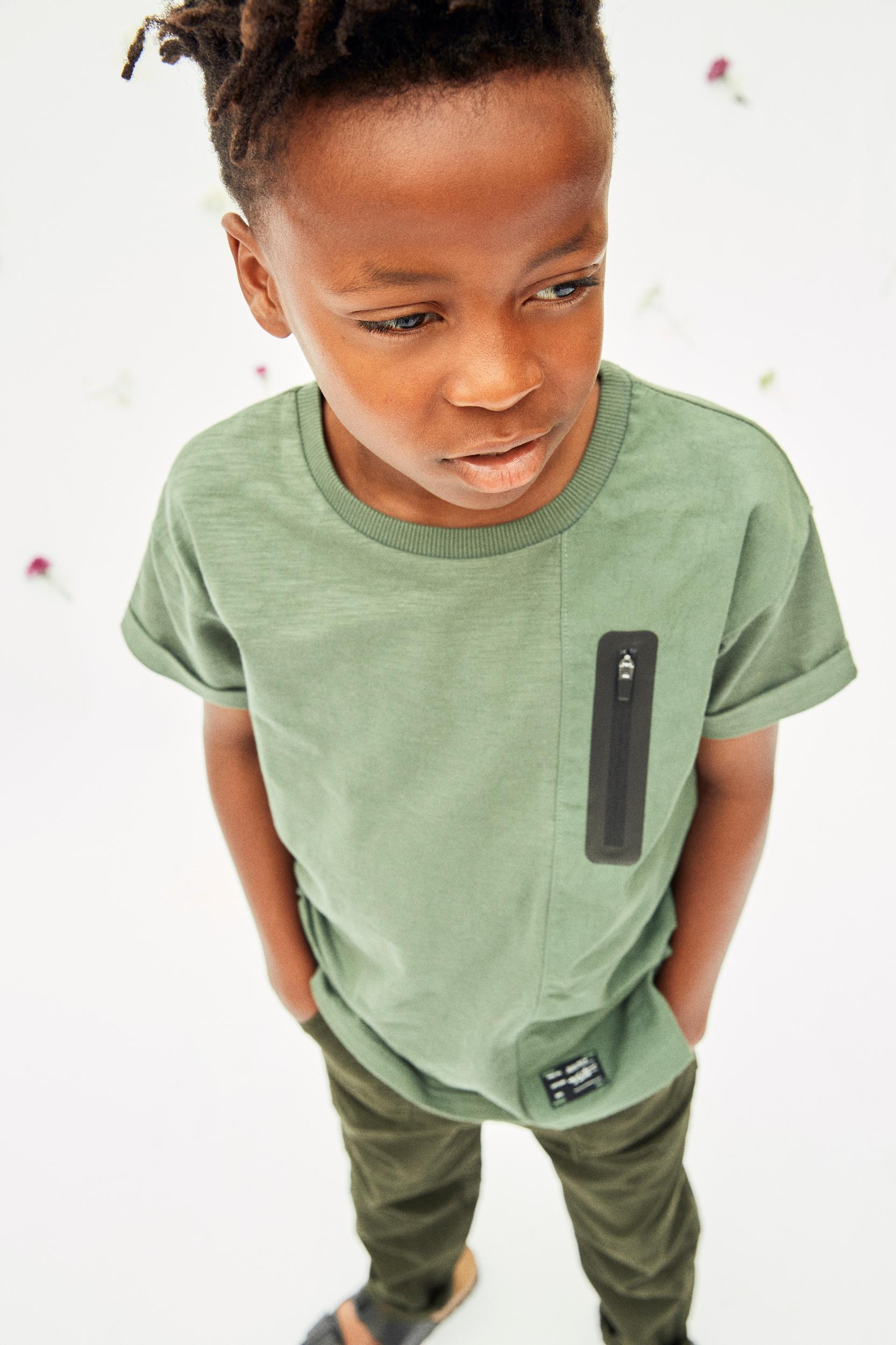 Name It Dahir t-shirt, duck green, 134-140