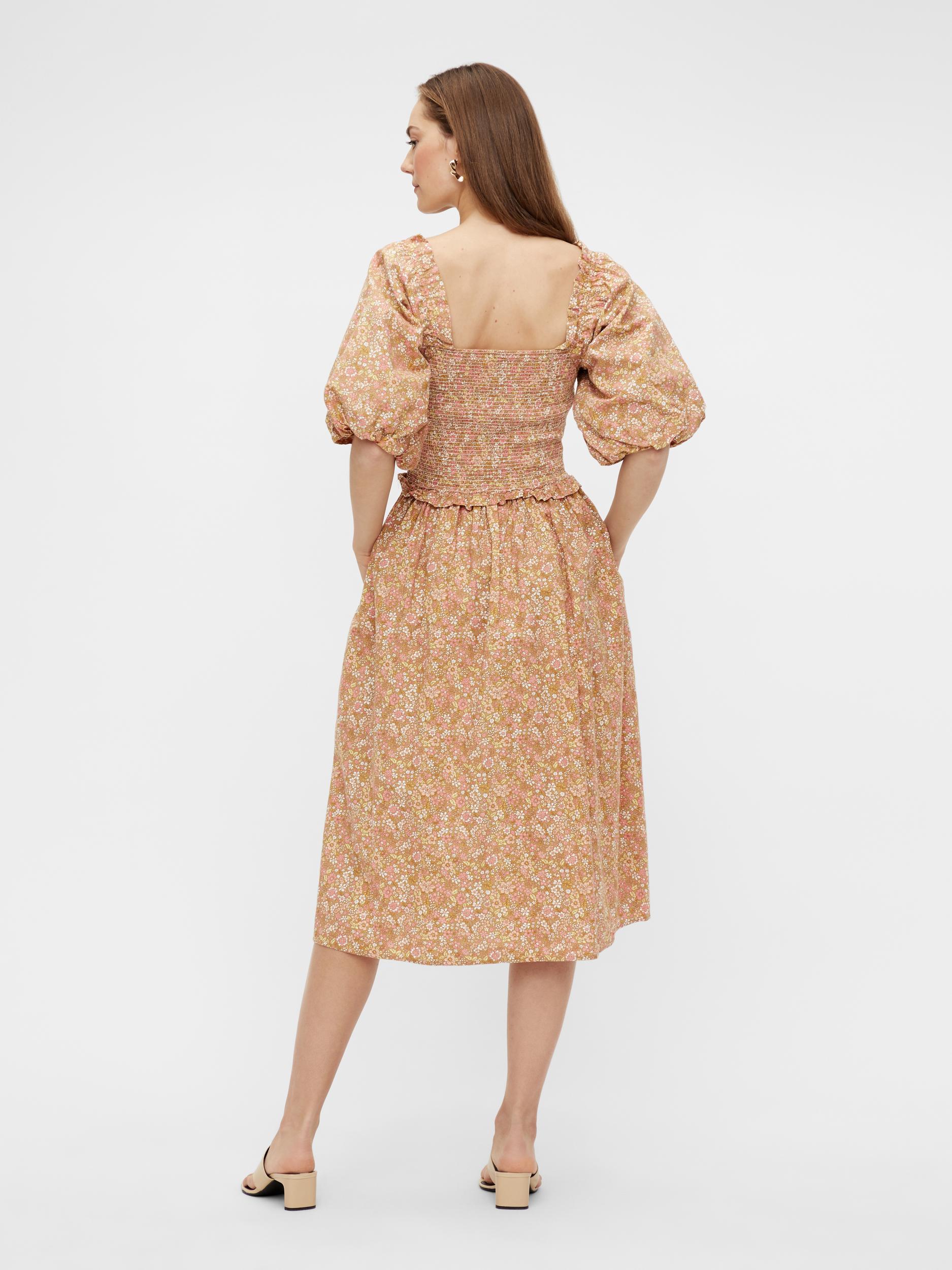 Y.A.S Mima kjole, tan, x-large