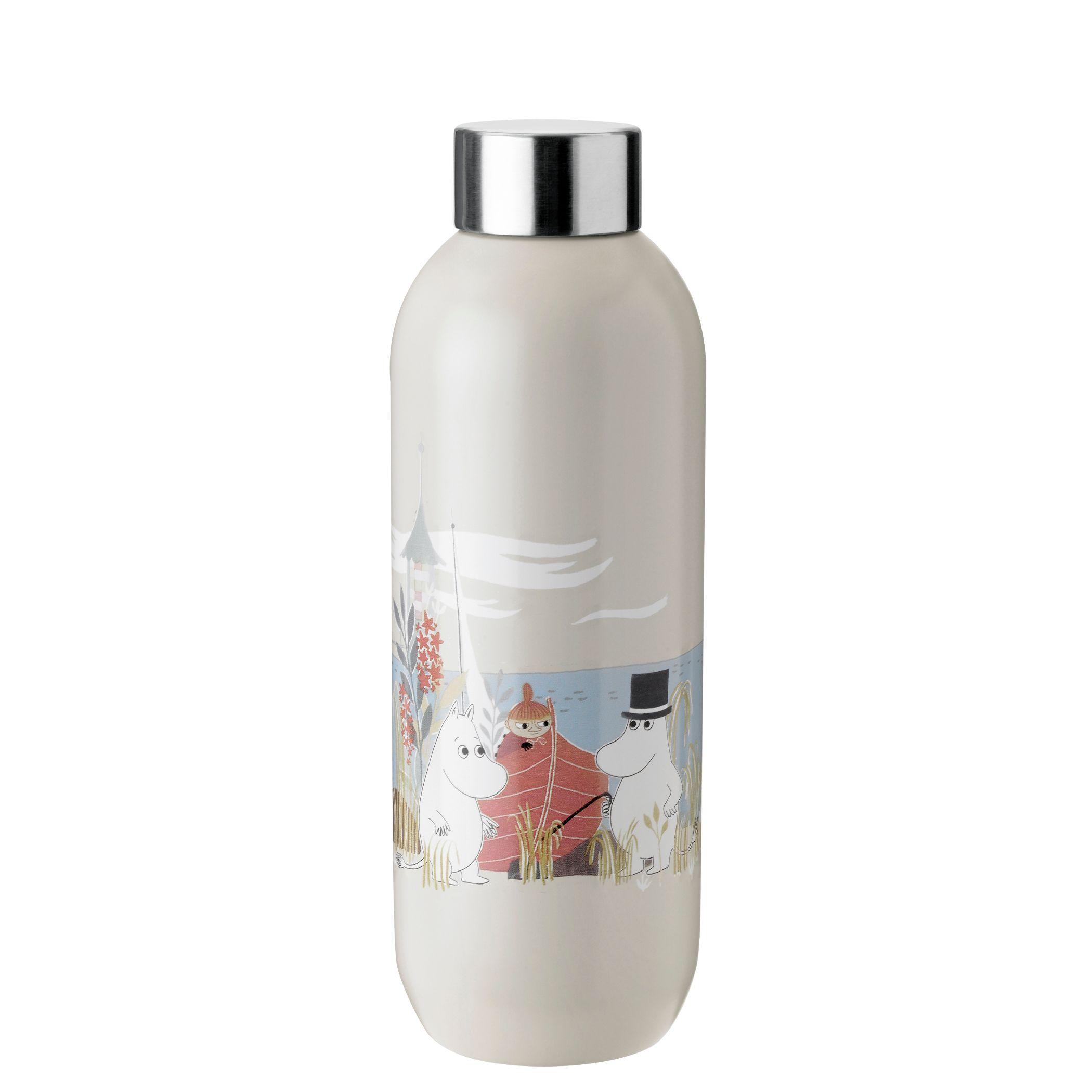 Stelton Keep Cool Mumi drikkeflaske, 750 ml, sand