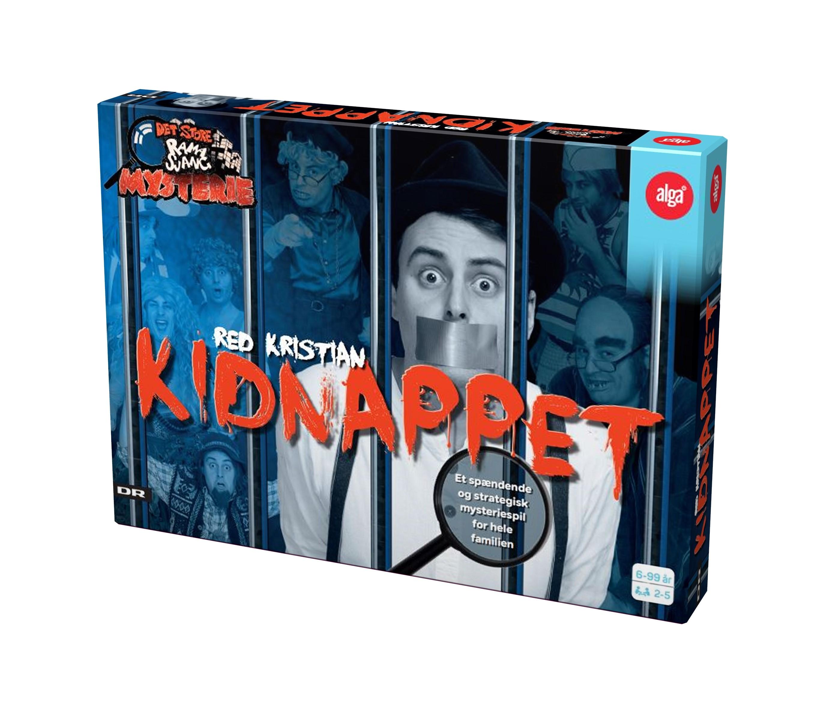 Alga Kidnappet Brætspil