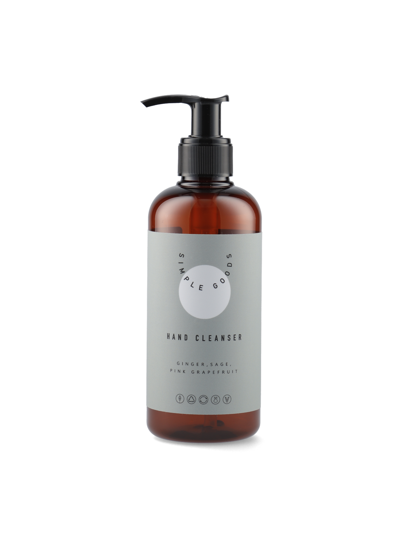 Simple Goods Hand cleanser, Grapefrugt, 250 ml
