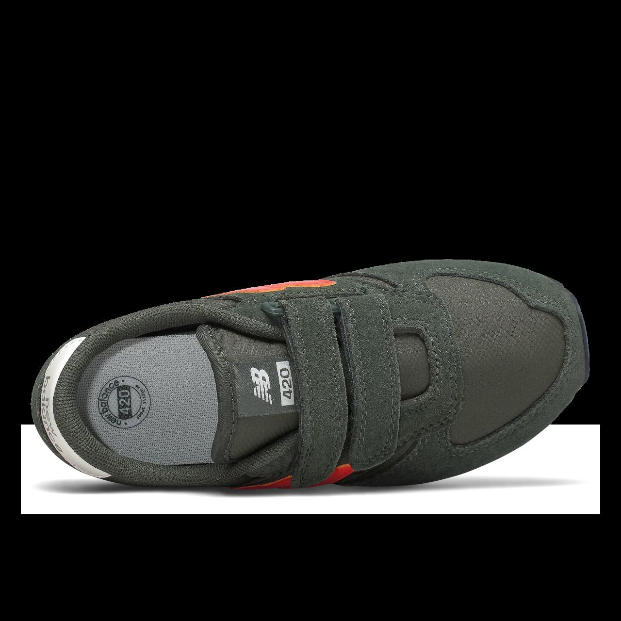 New Balance 420 sneakers, dark green, US 1.5