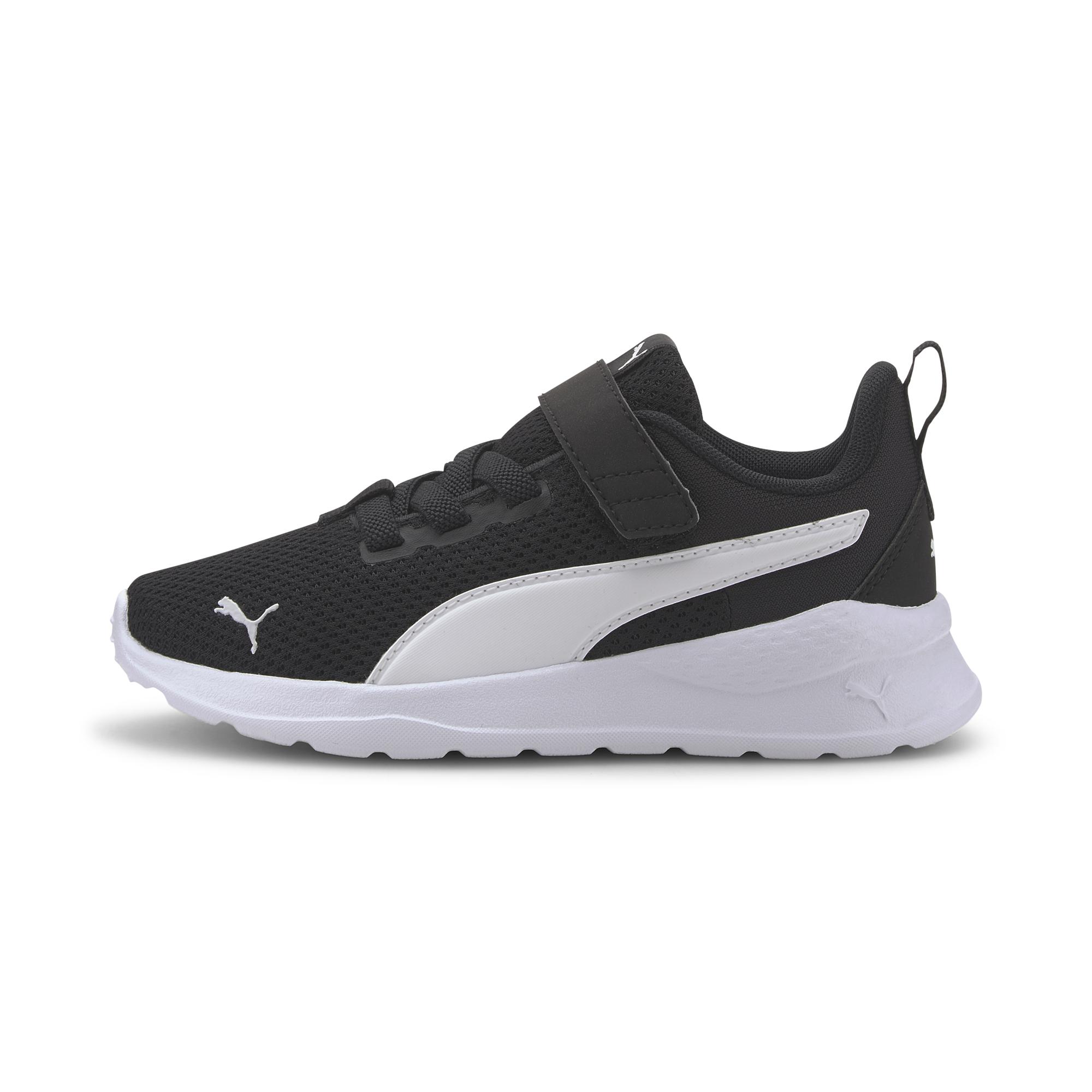 Puma Anzarun Lite kids sneakers, black-white, 30