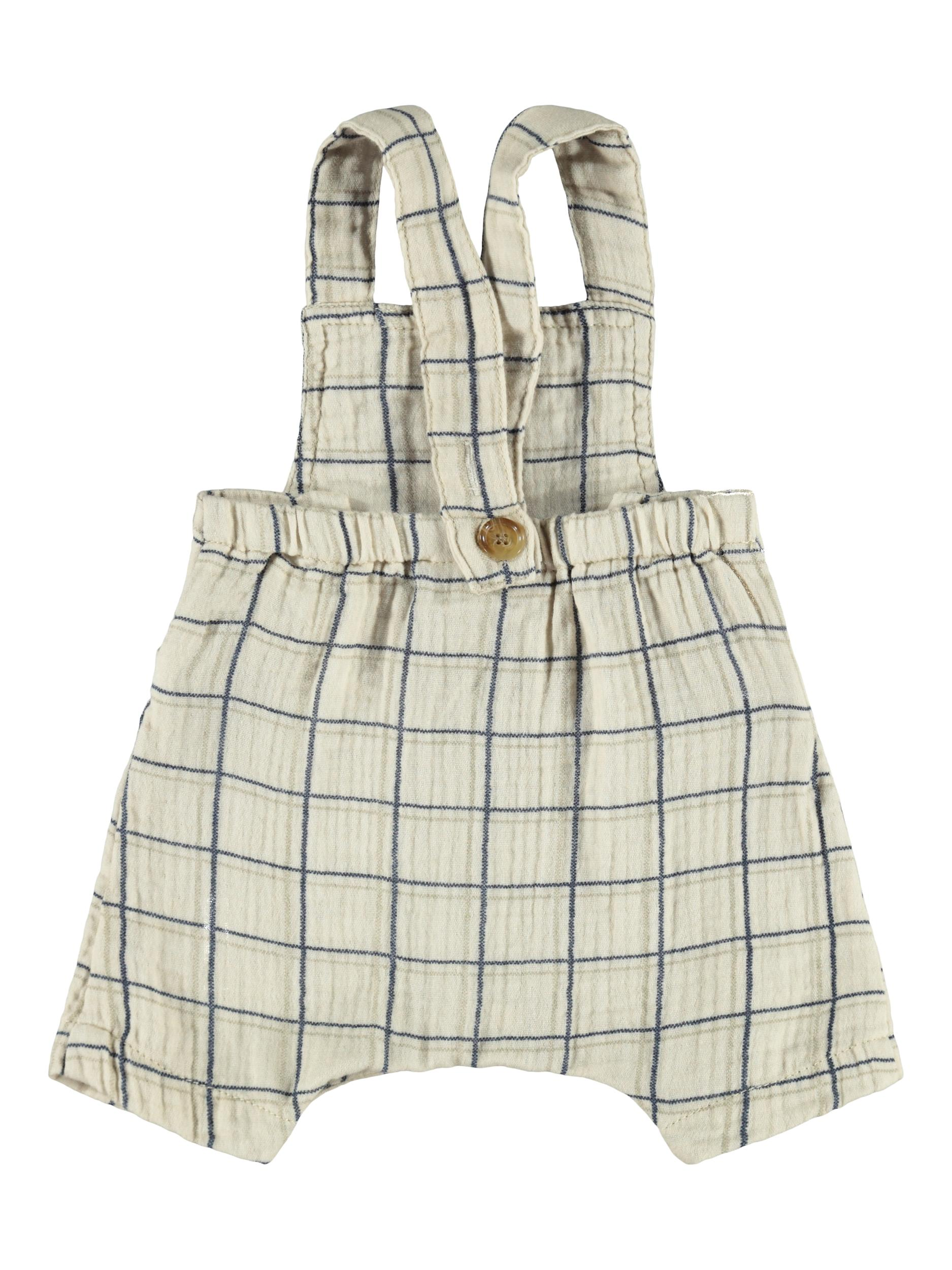 Name It Henry shorts overalls, oatmeal, 62