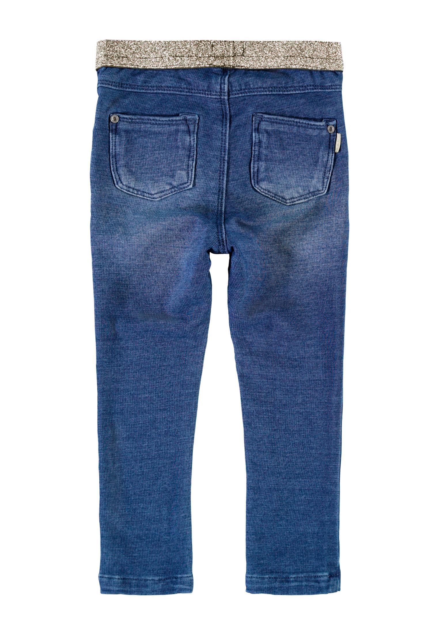 Name It Polly leggings, medium blue denim, 110