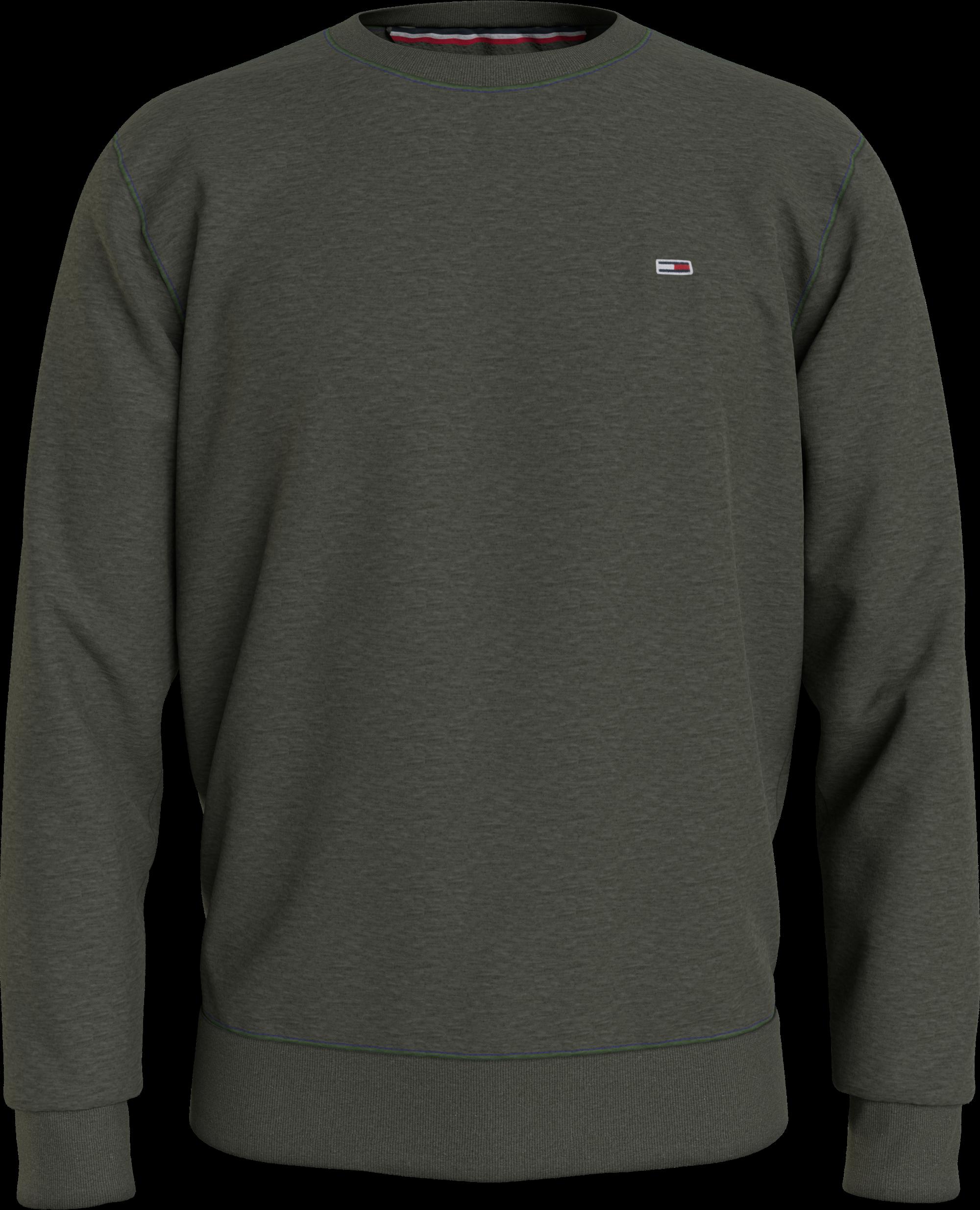 Hilfiger Denim Flag Patch Fleece Sweatshirt