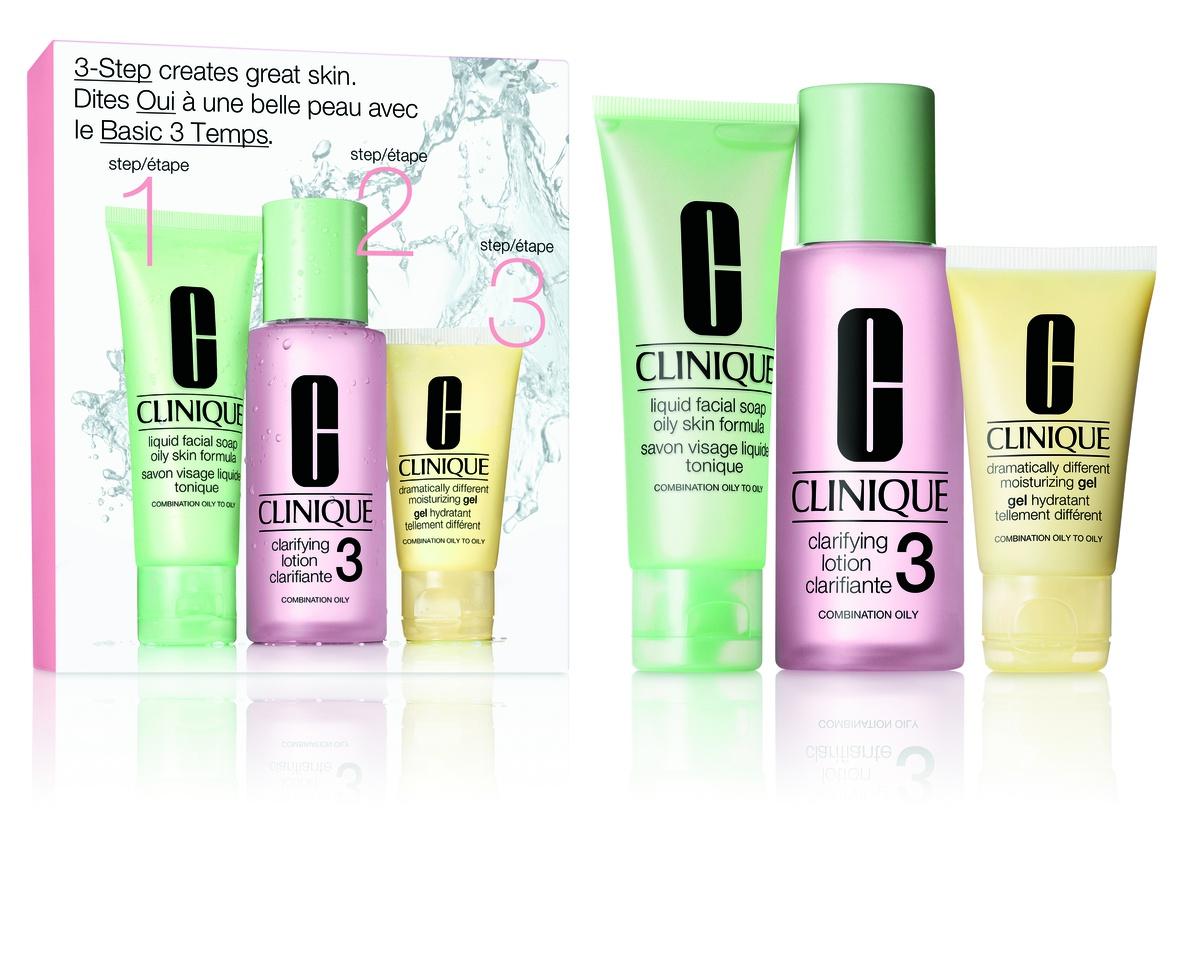 Clinique 3-Step Skin Care intro Set, skin type 3