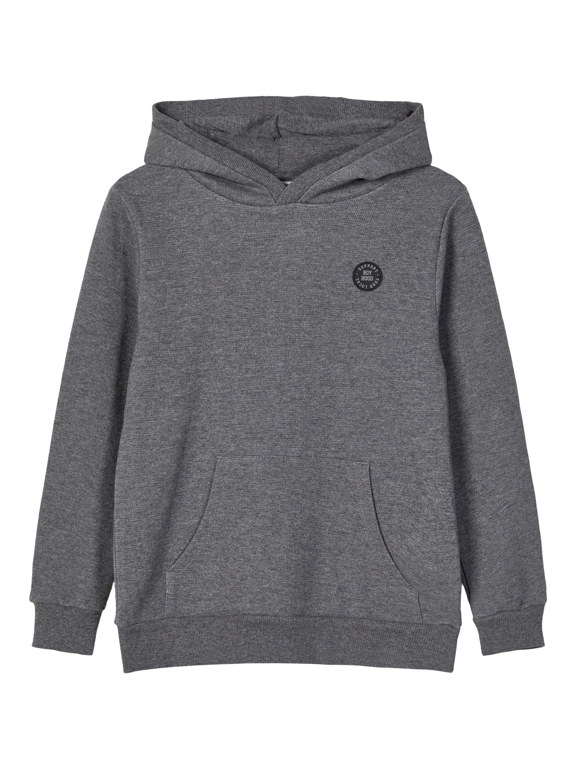 Name It Olson sweatshirt, dark grey melange, 134-140