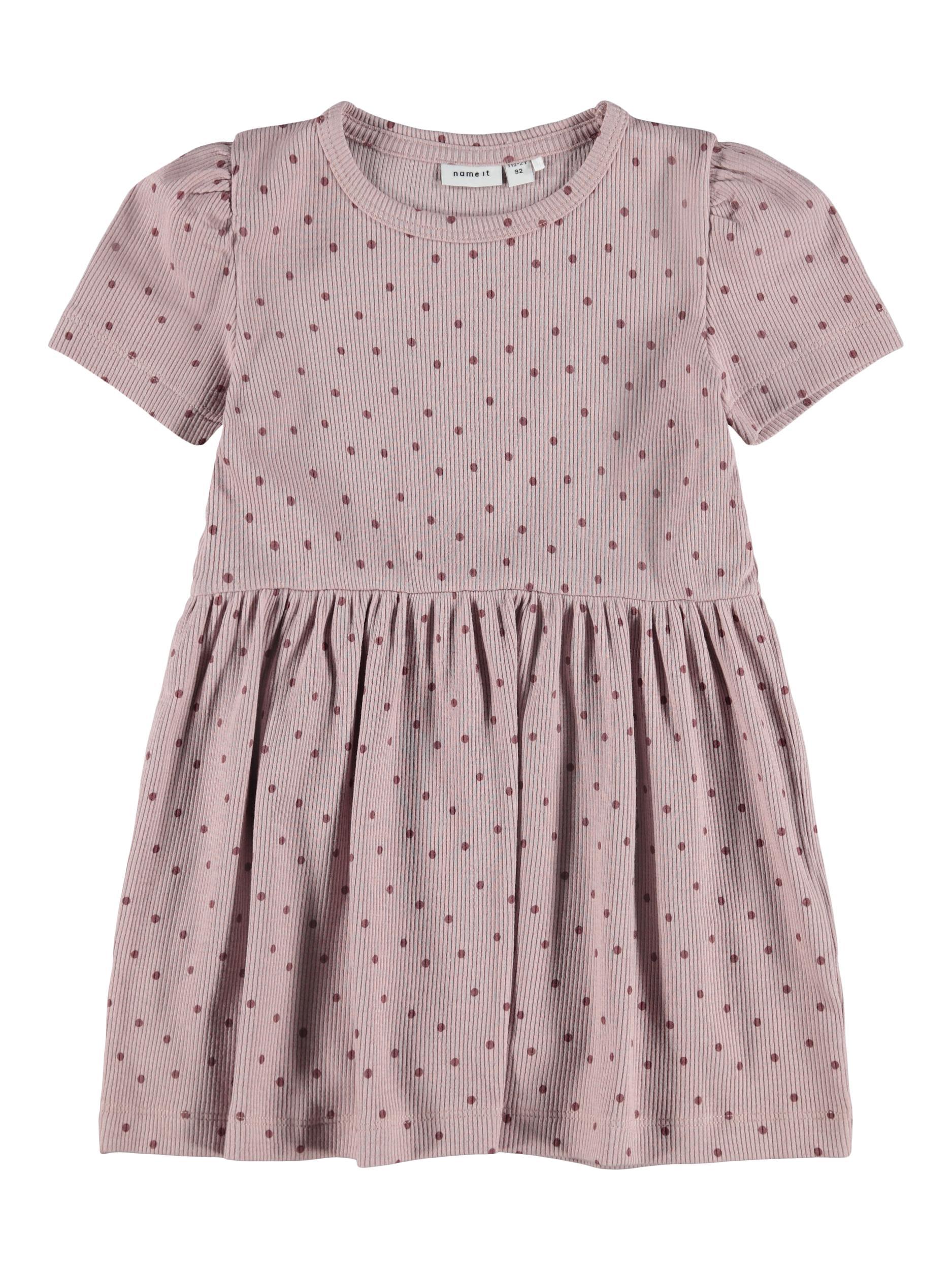 Name It Fjille SS kjole, deauville mauve, 110