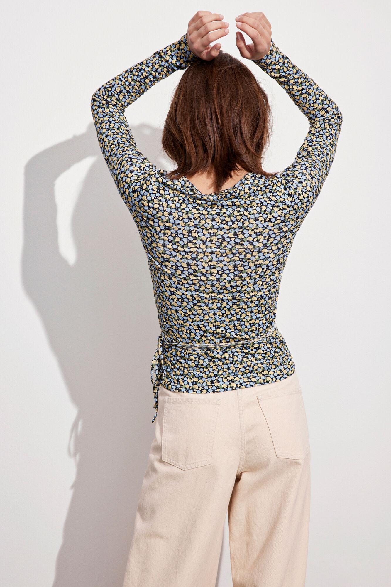 Envii Ally LS t-shirt, himalaya poppy, large