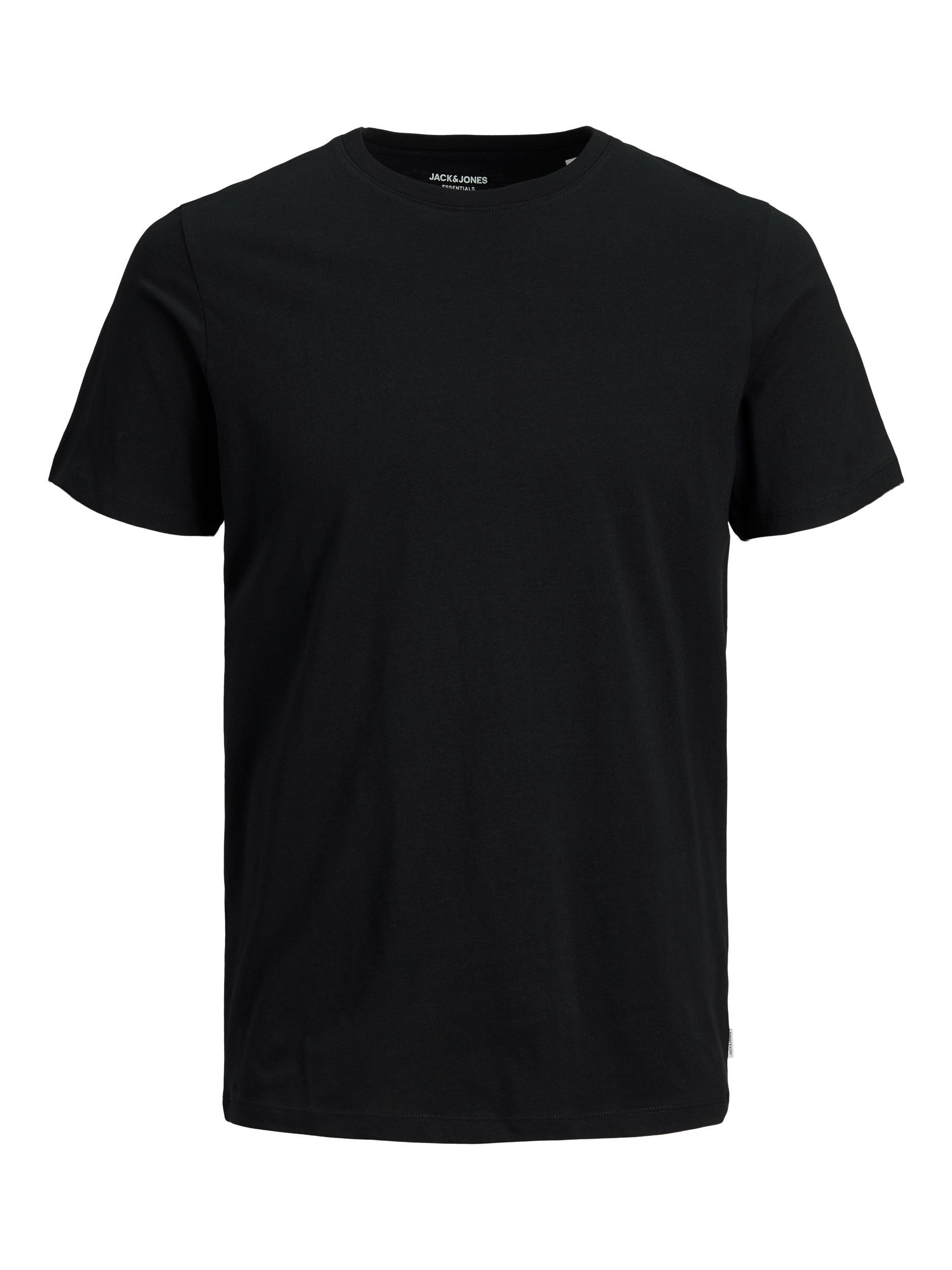 Jack & Jones Organic Basic t-shirt, black, large