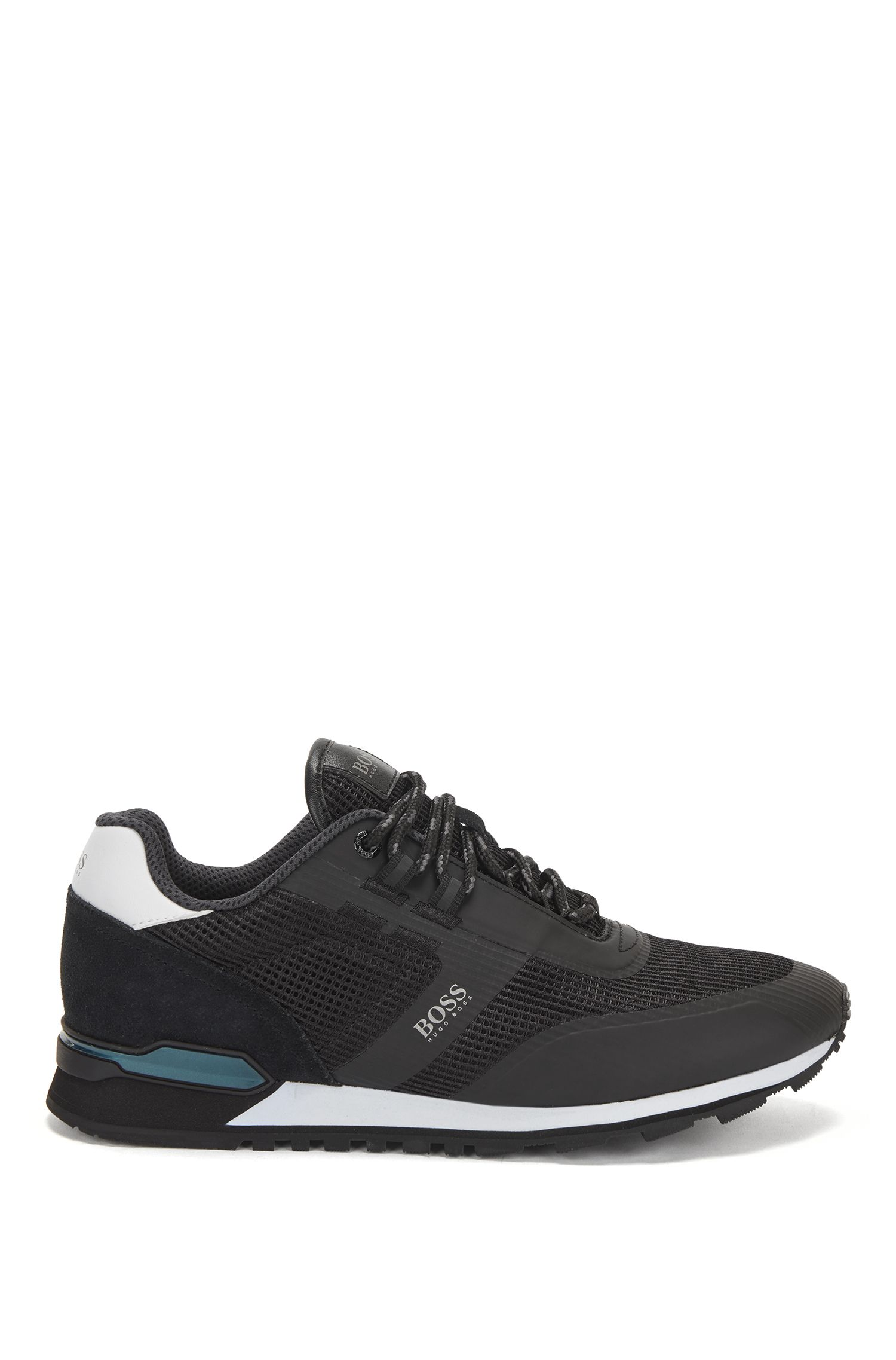 Hugo Boss Hybrid sneakers, black, 44