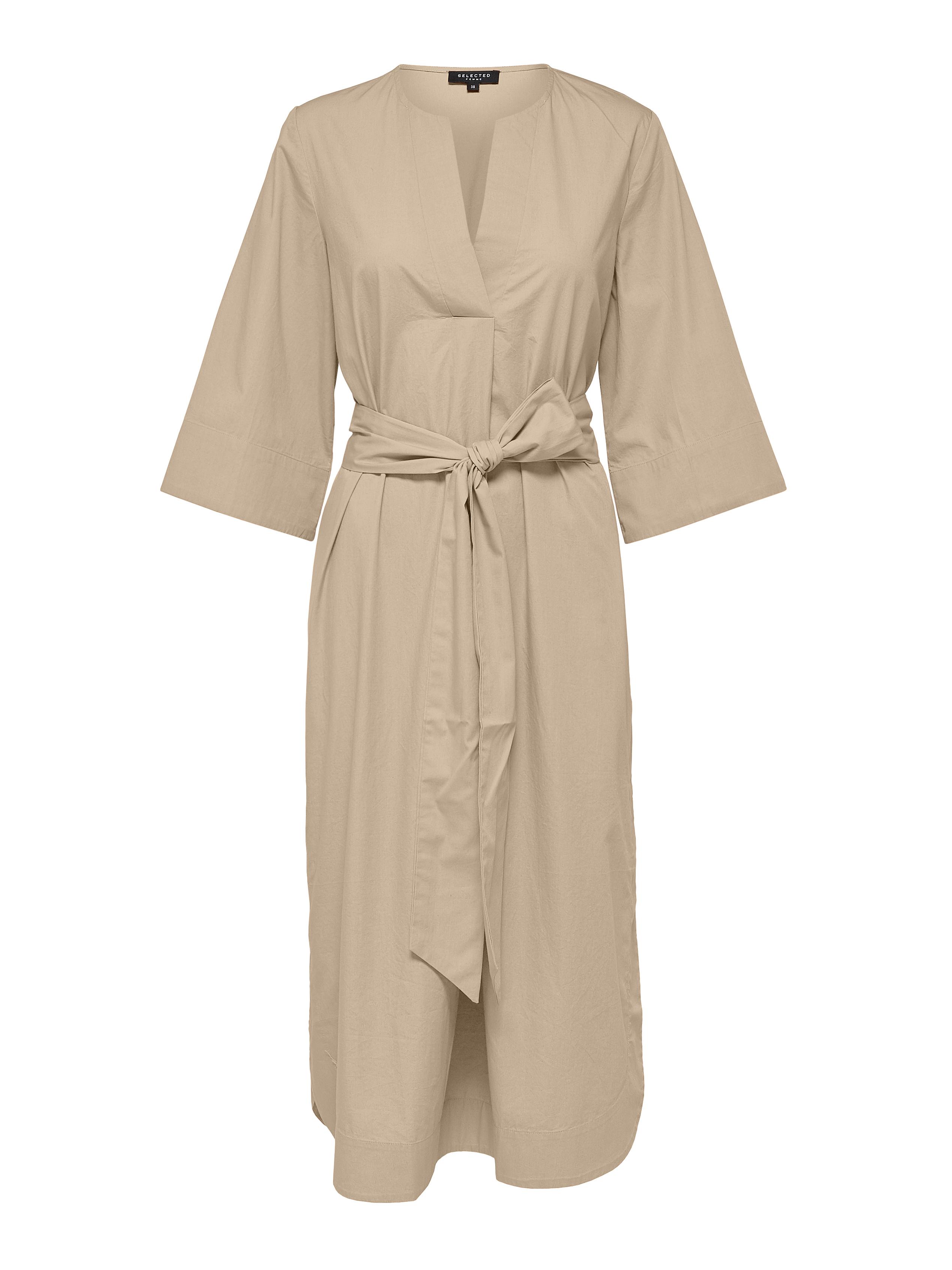 Selected Femme carlotta Kaftan kjole