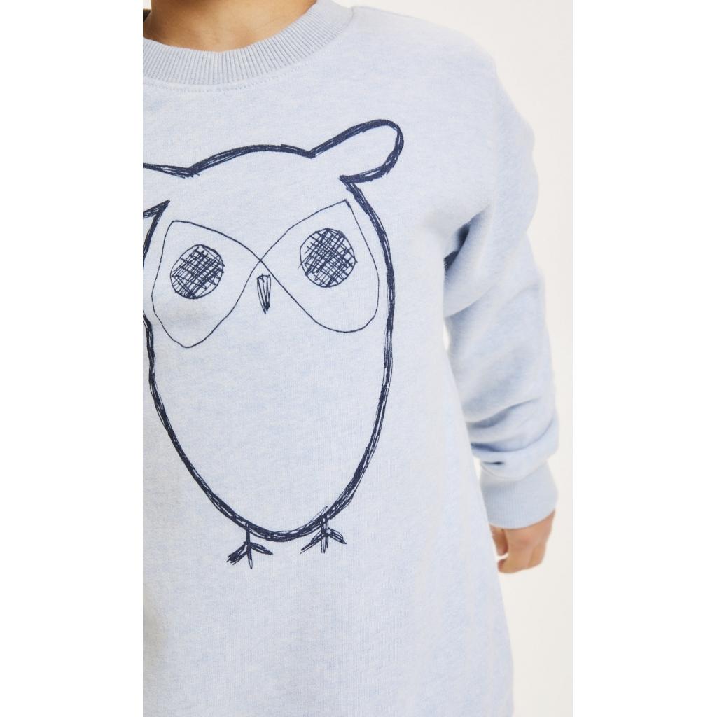 Knowledge Cotton Apparel Lotus Owl Sweatshirt, abricut, 146-152