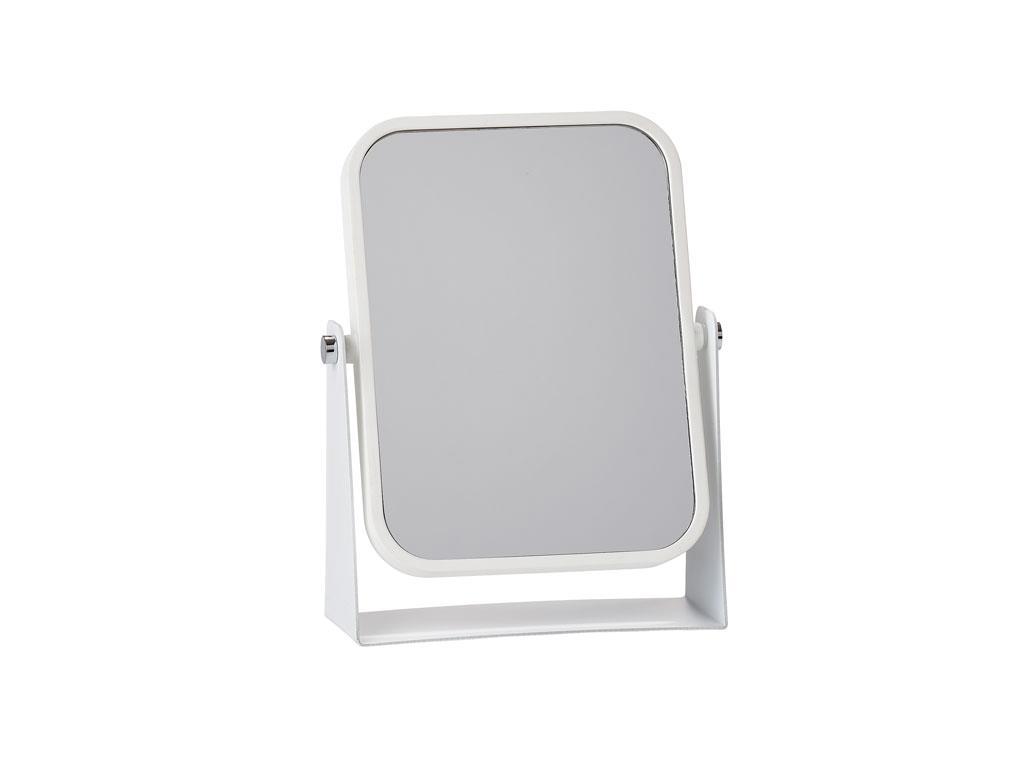Zone bordspejl, hvid