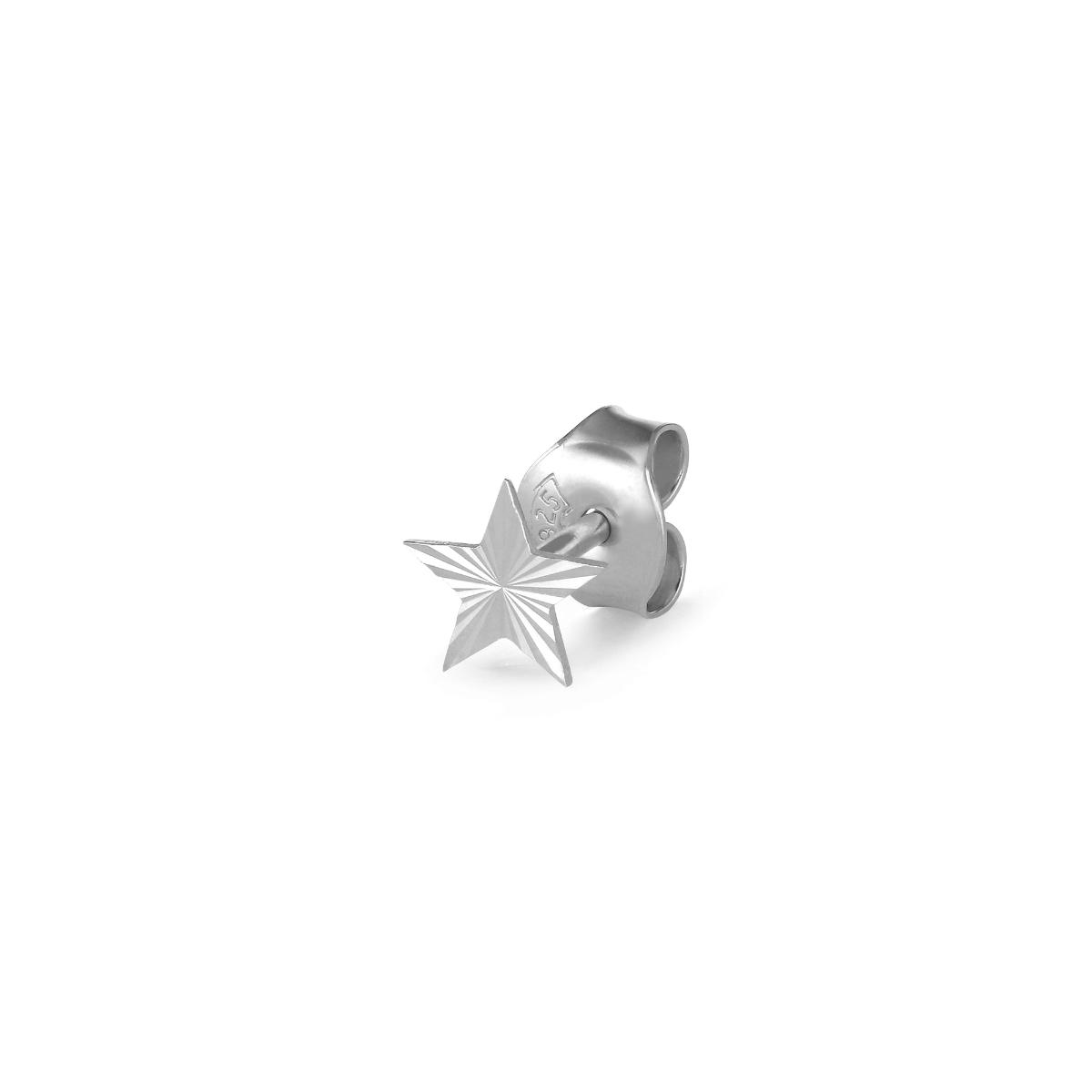 Jane Kønig Reflection Stud Star ørering, sølv