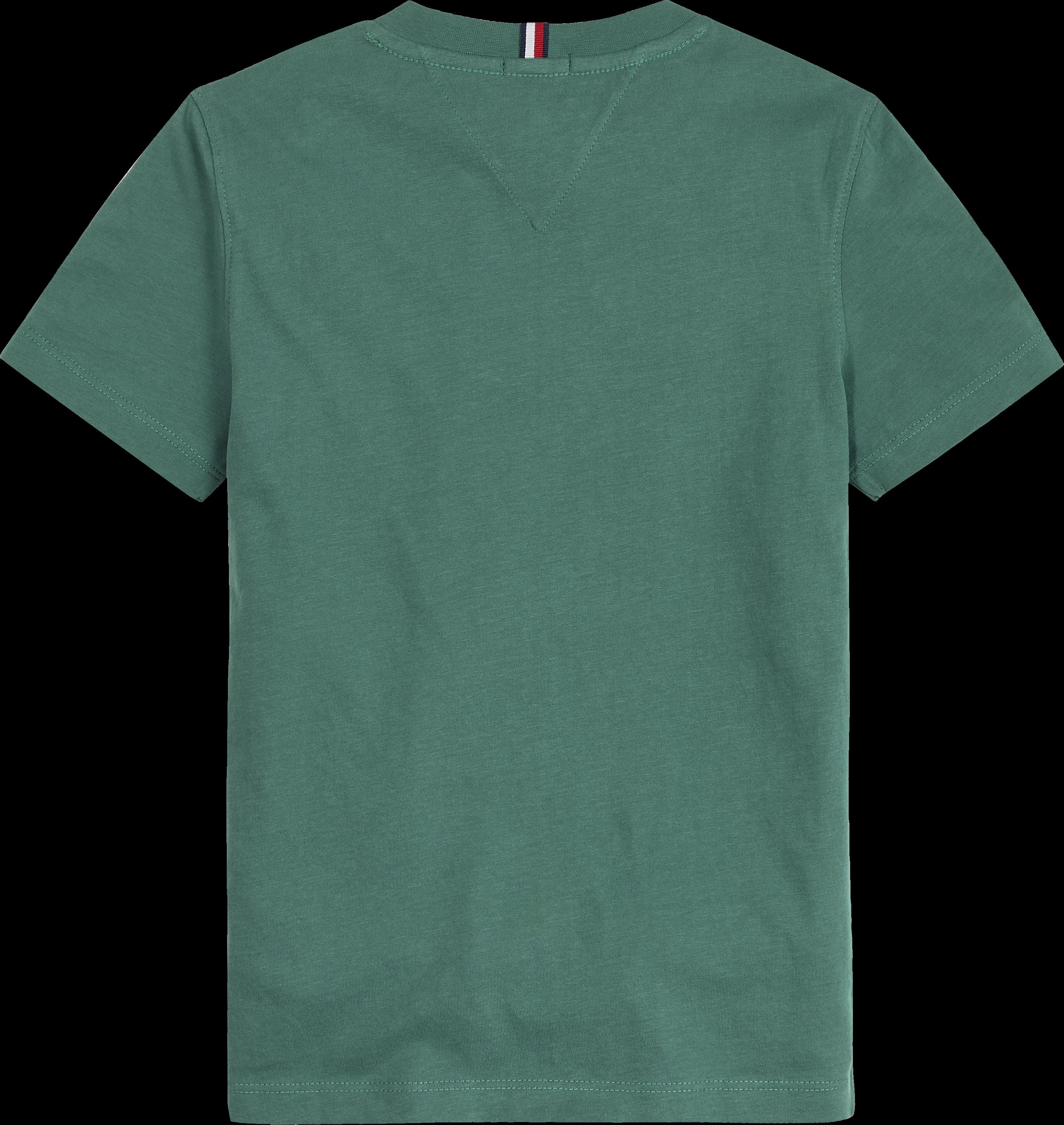 Tommy Hilfiger Mountain Artwork T-shirt, Grøn, 3