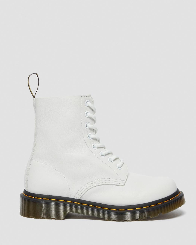 Dr. Martens Pascal Virginia Ankle støvle, white virginia, 40