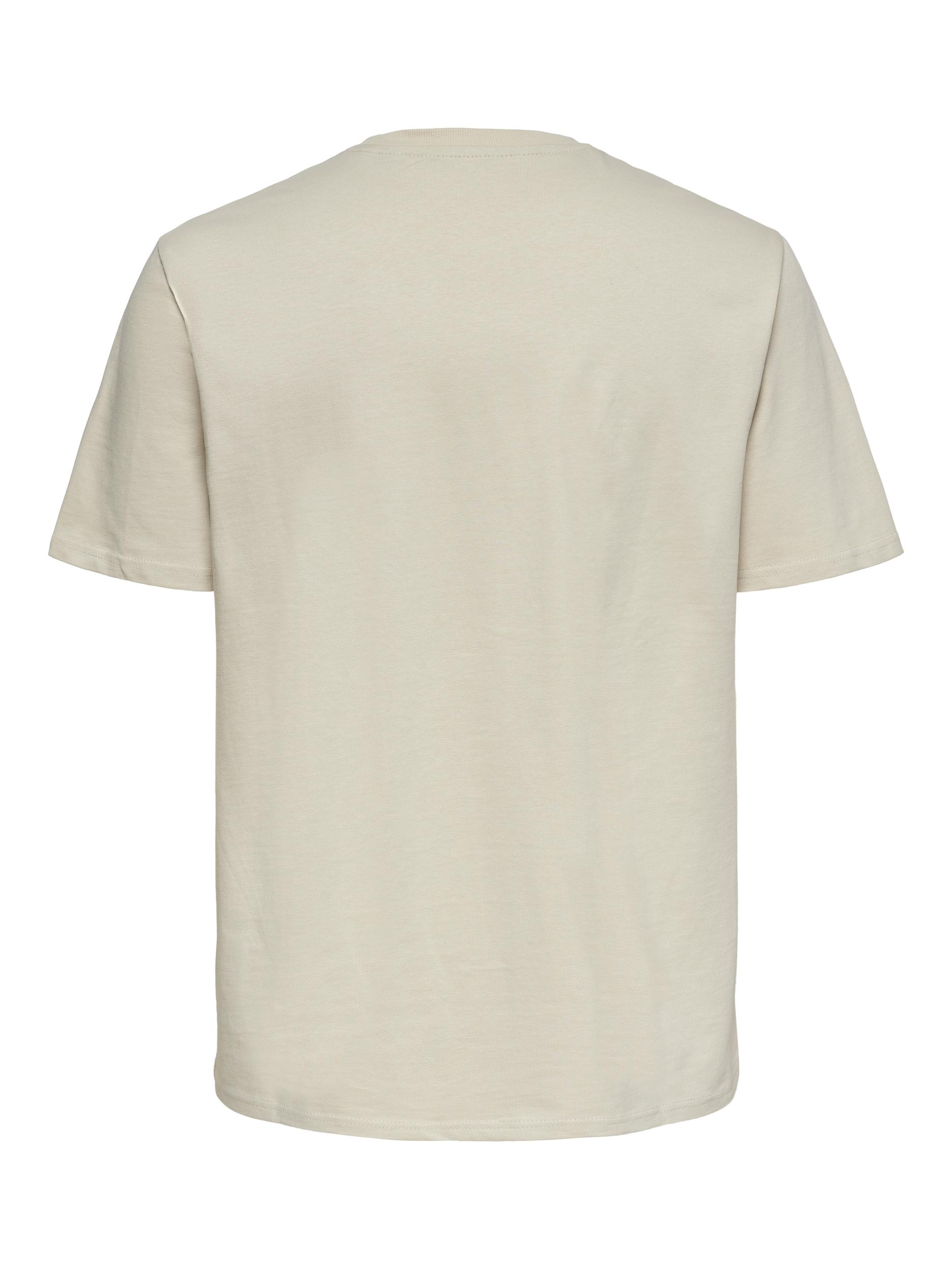 Only & Sons Anel Life SS t-shirt, pelican, large