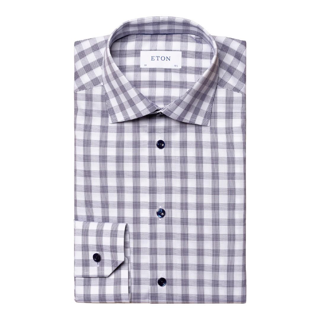 Eton Contemporary Fit 100002223 skjorte, blue, 40